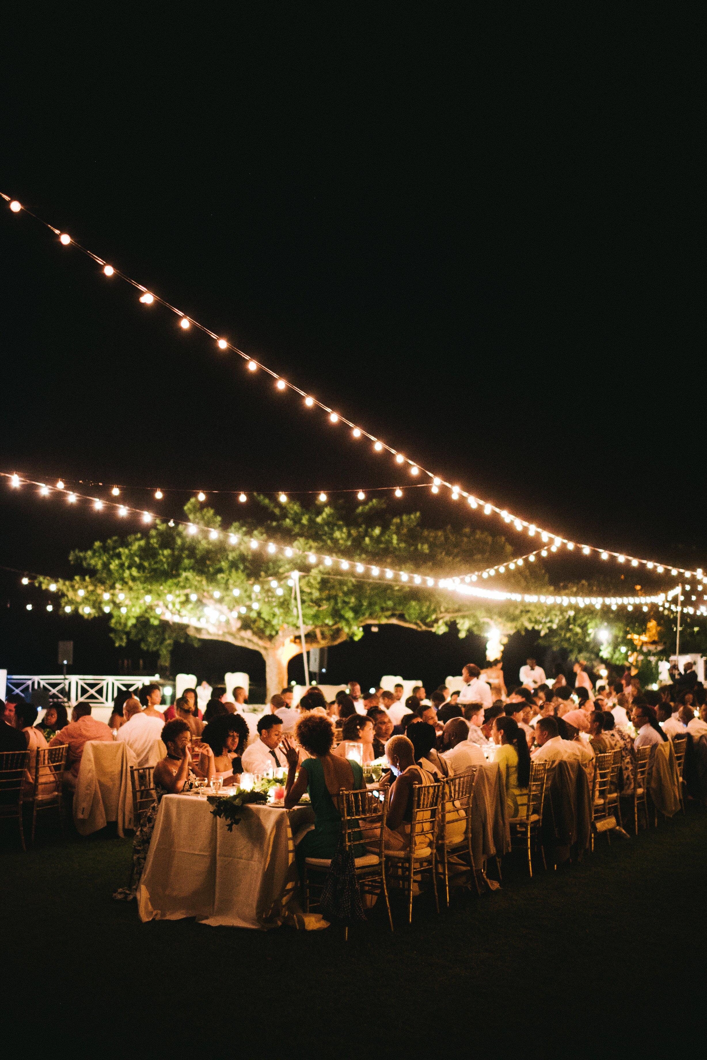 How To Illuminate Your Outdoor Wedding Martha Weddings
