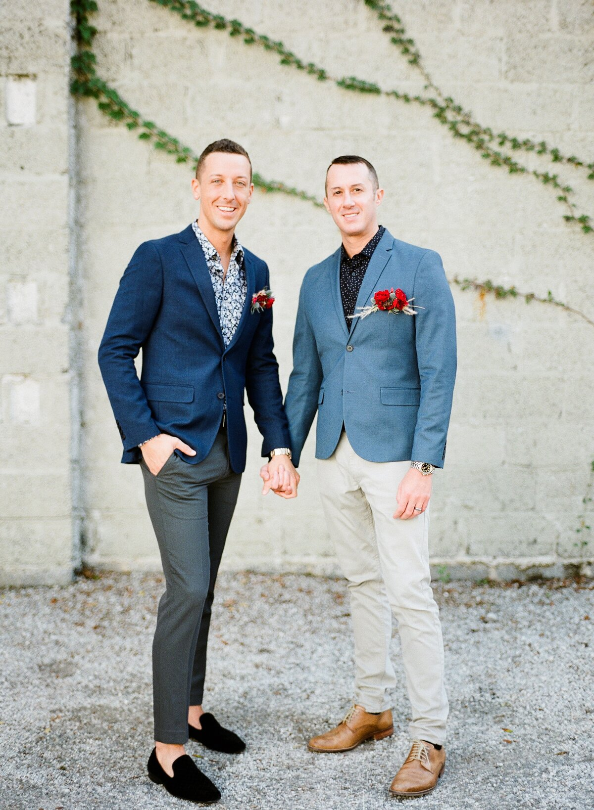 Outfit Inspiration From The Most Stylish Same Sex Grooms Martha