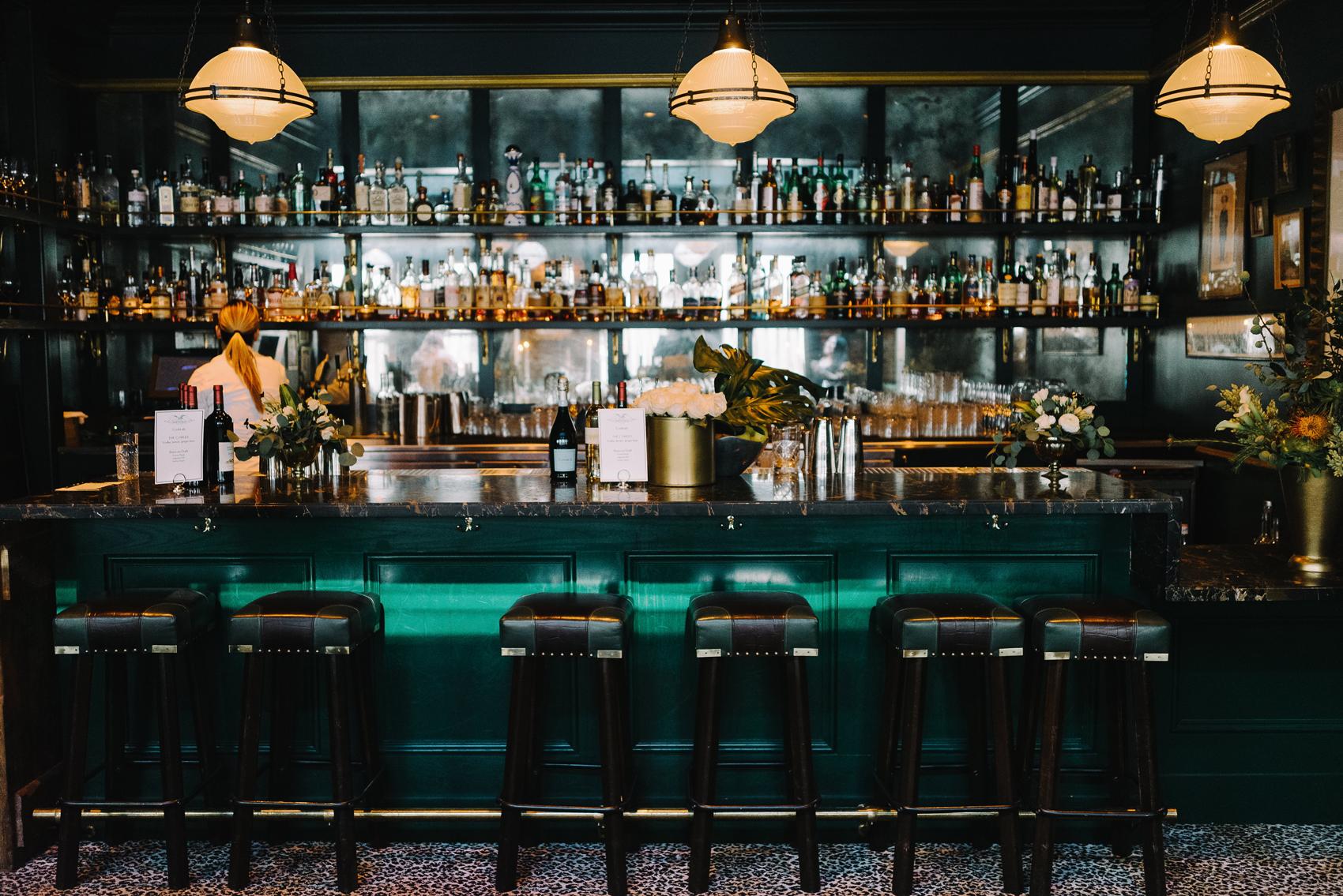 upscale indoor bar