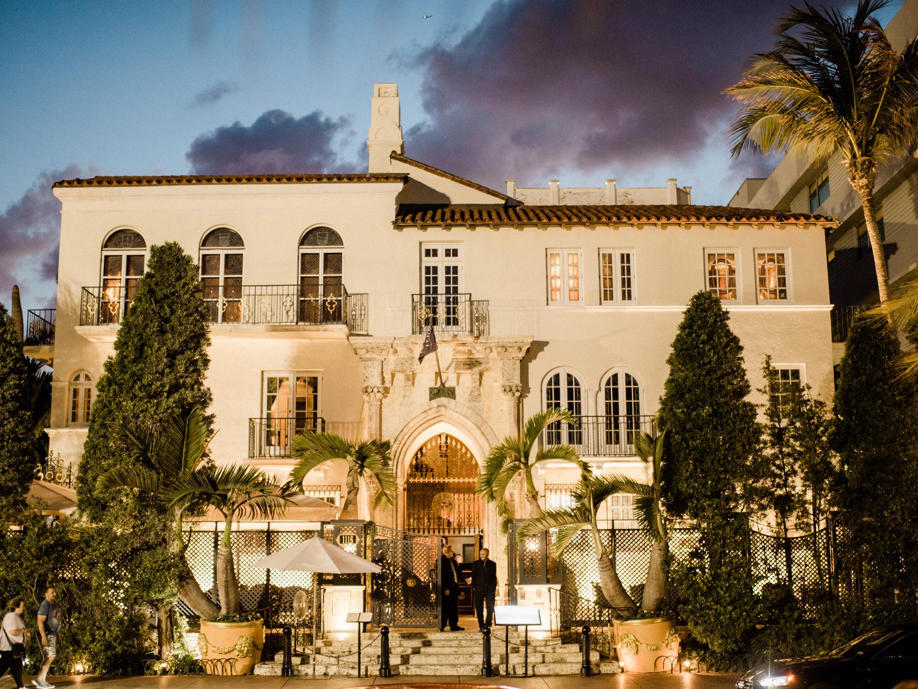 Villa Casaurina, the Versace Mansion wedding venue in Miami Beach