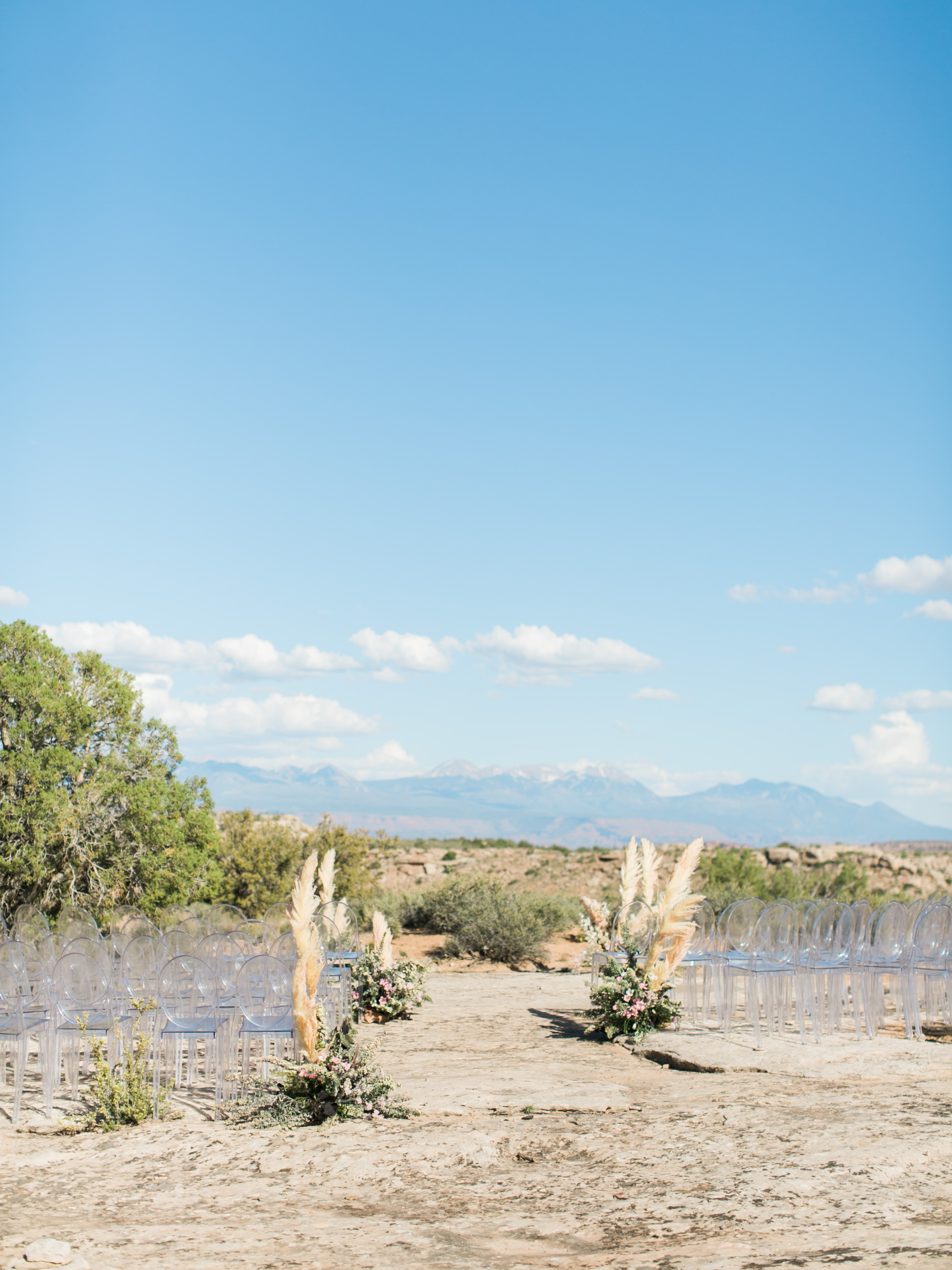 jeanette david wedding desert ceremony site