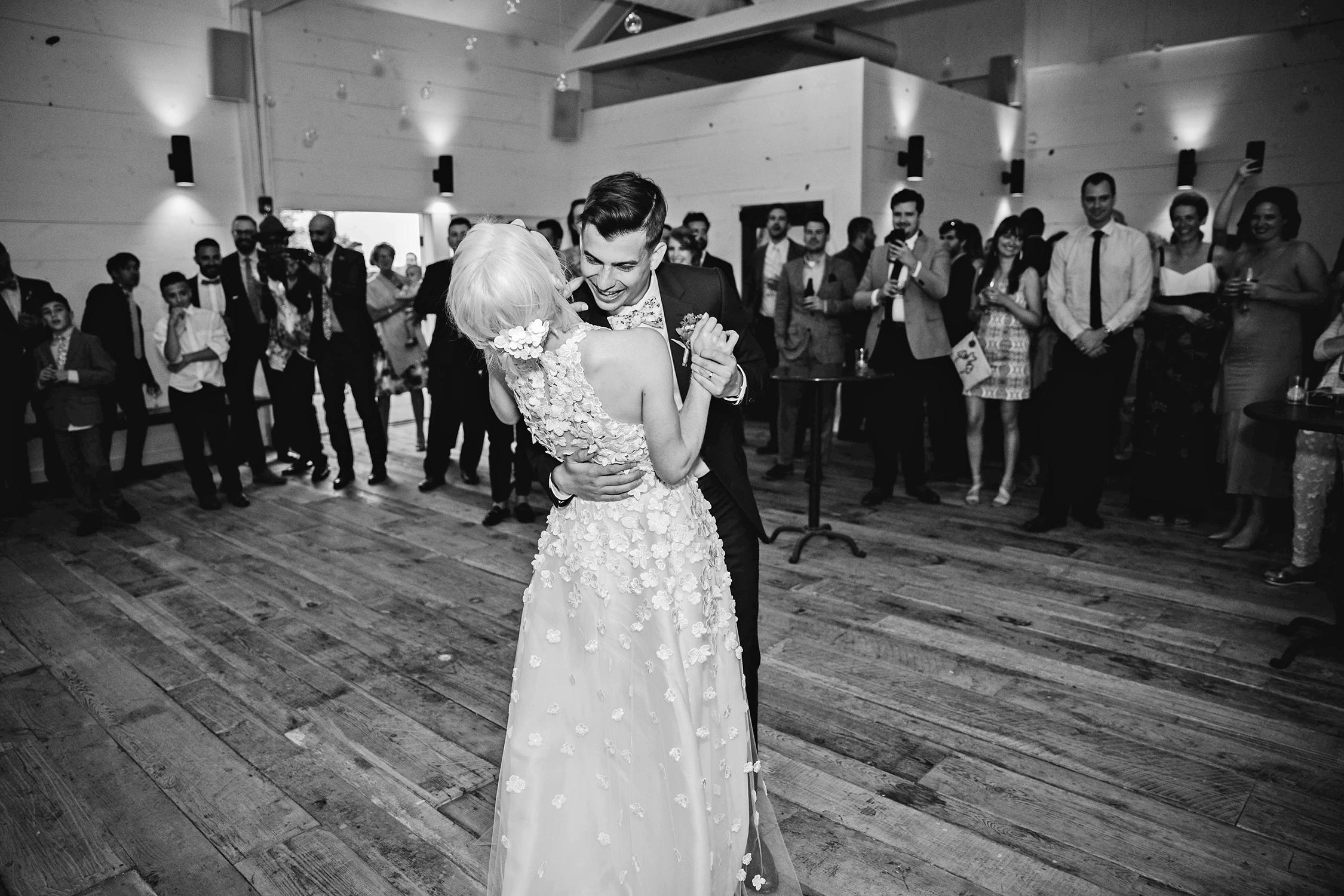 rose chris wedding first dance