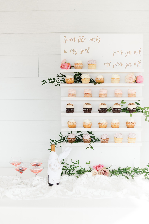 cupcake food wall