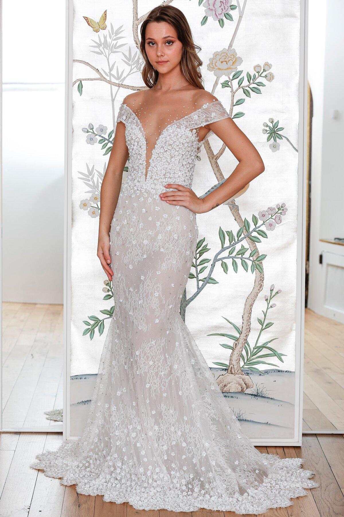 Lee Petra Grebenau Spring 2020 Wedding Dress Collection Martha