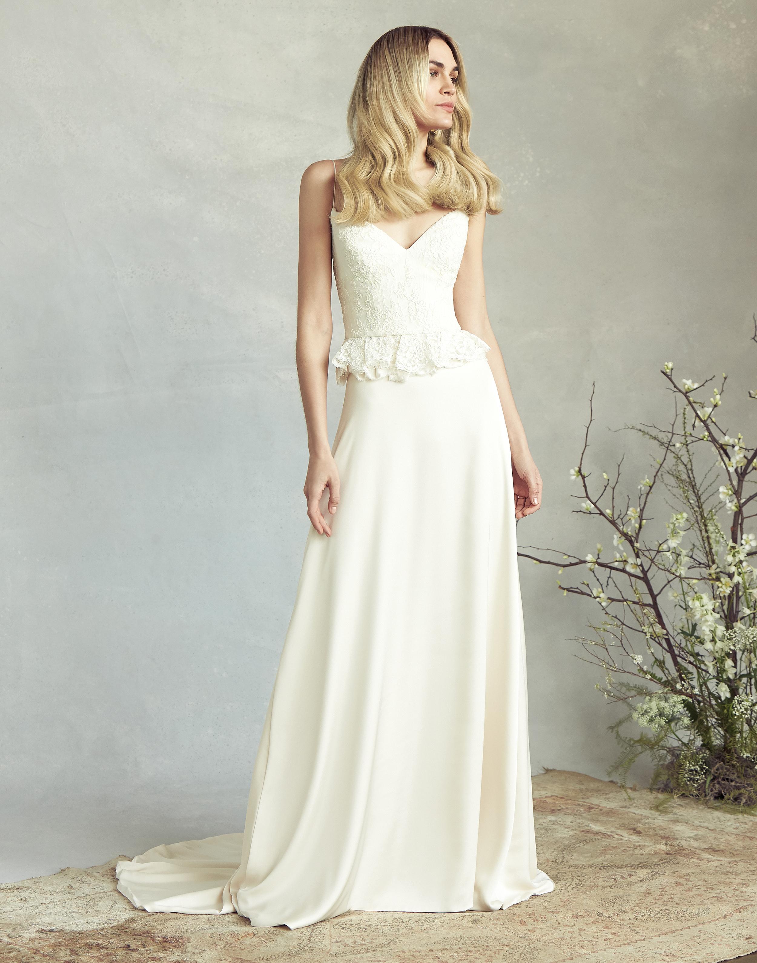 savannah miller embellished bodice a-line wedding dress spring 2020
