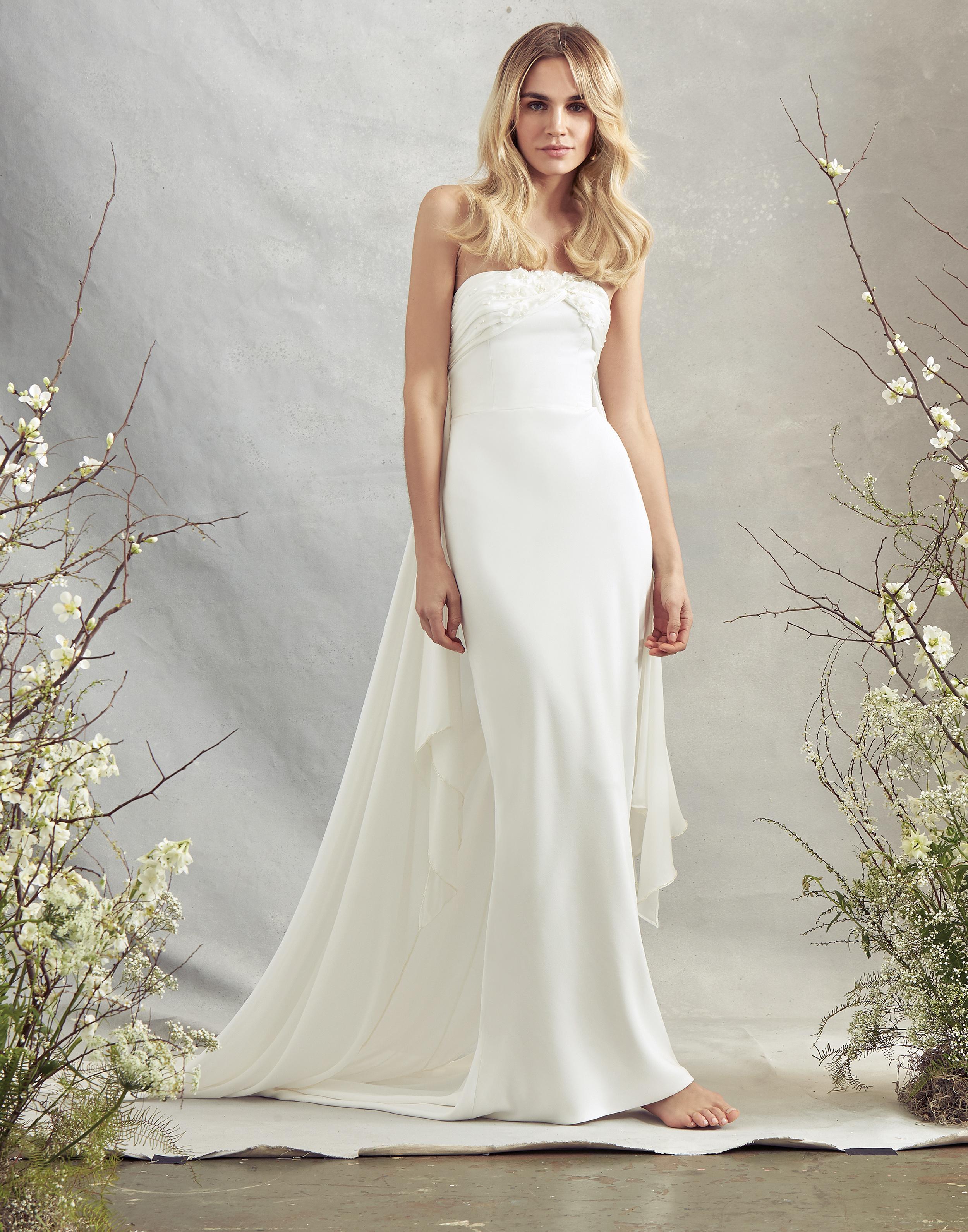 savannah miller strapless mermaid wedding dress spring 2020