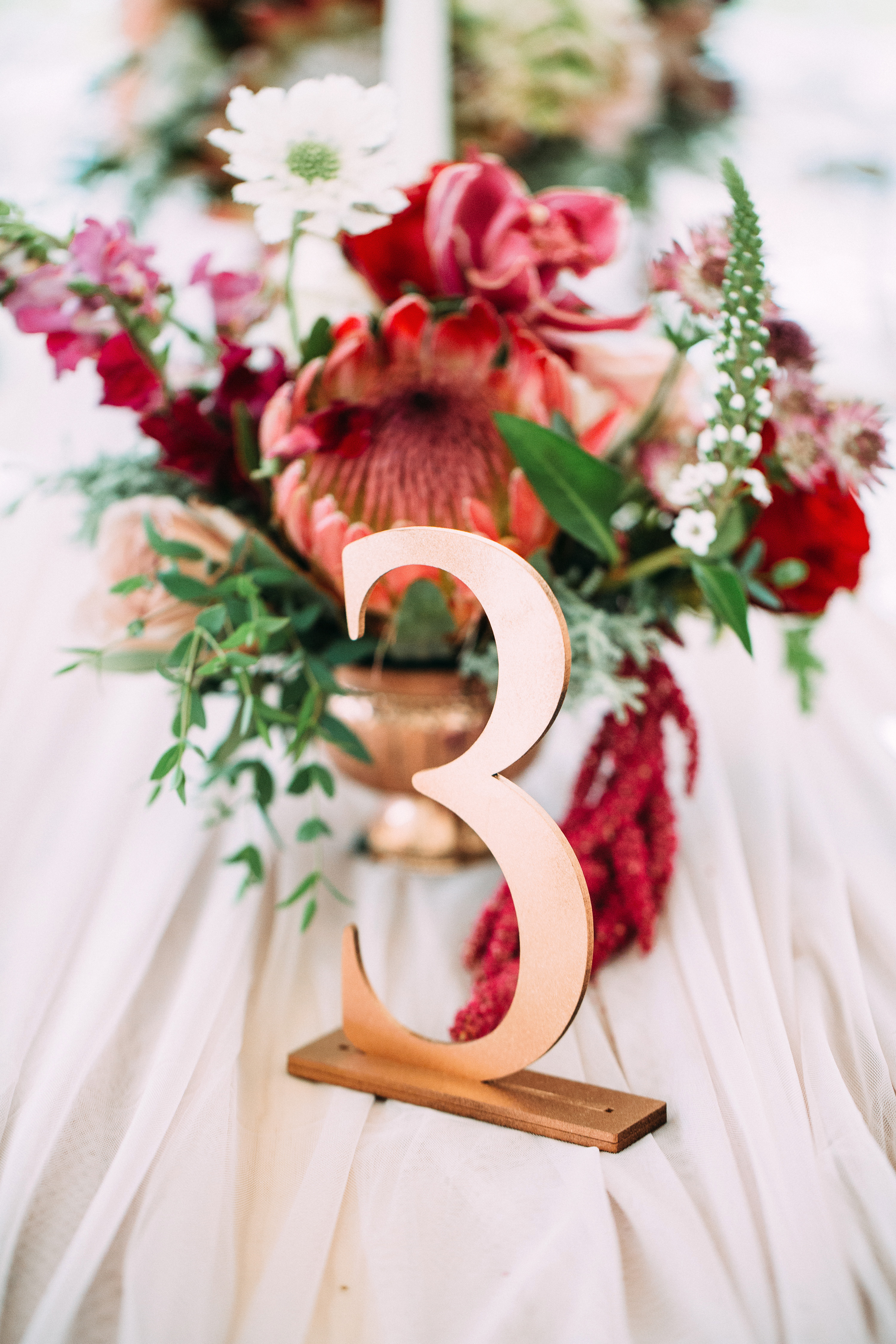 yolana douglas wedding reception table numbers