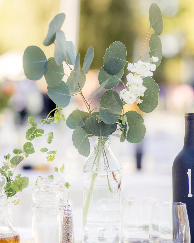 delicate eucalyptus floral creation
