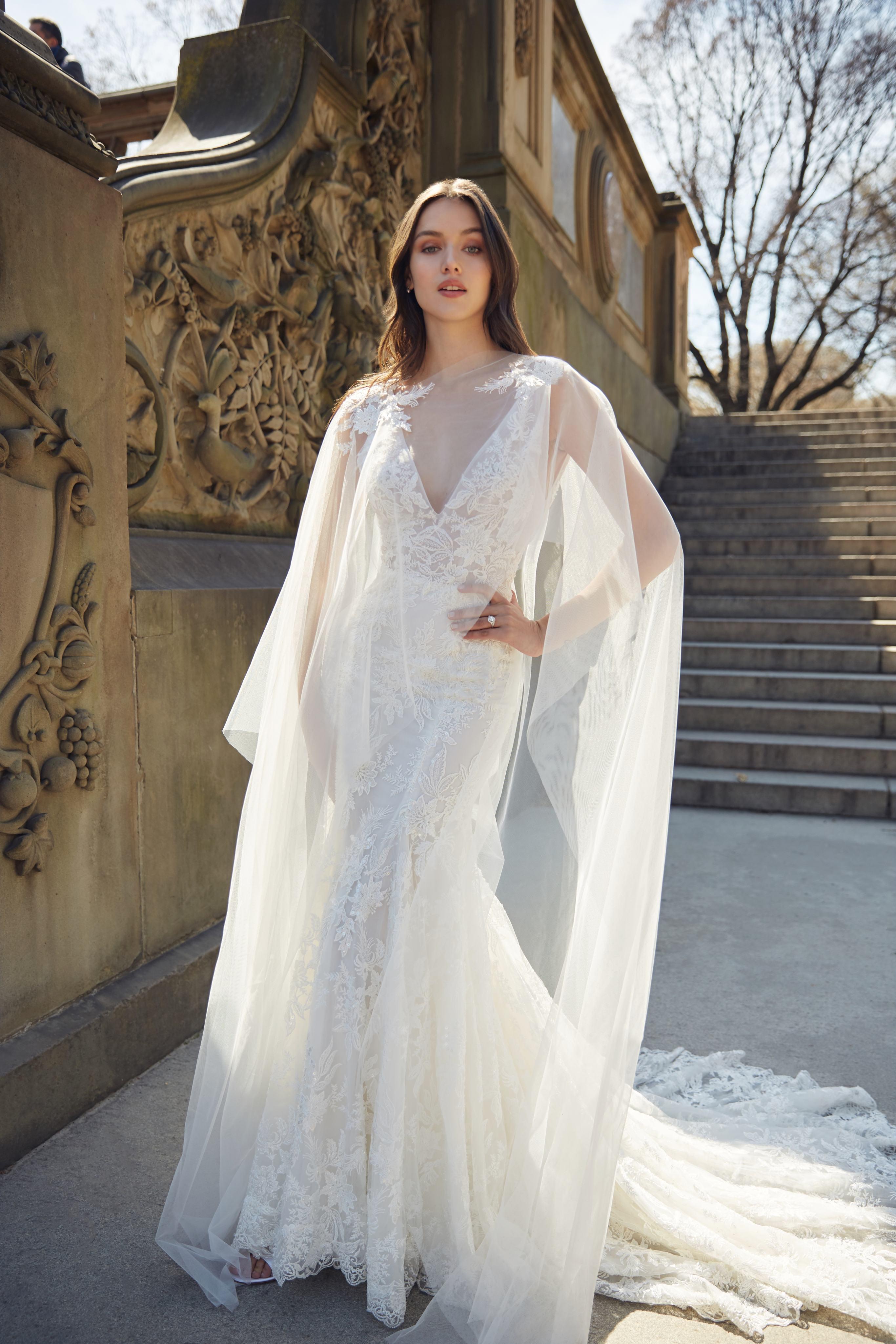 Image result for Monique Lhuillier Bridal Spring 2020