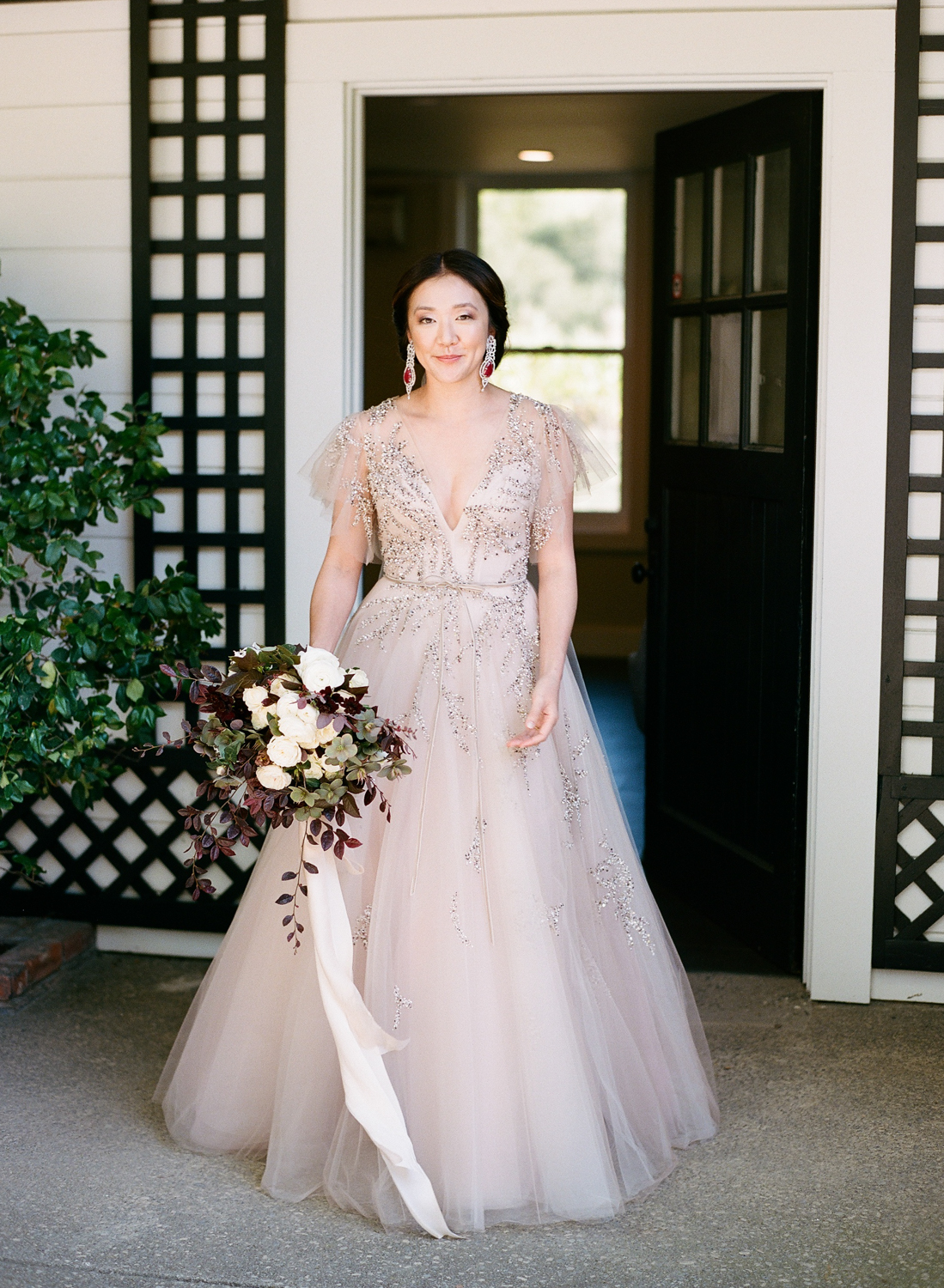 Monique Lhuillier ball gown wedding dress