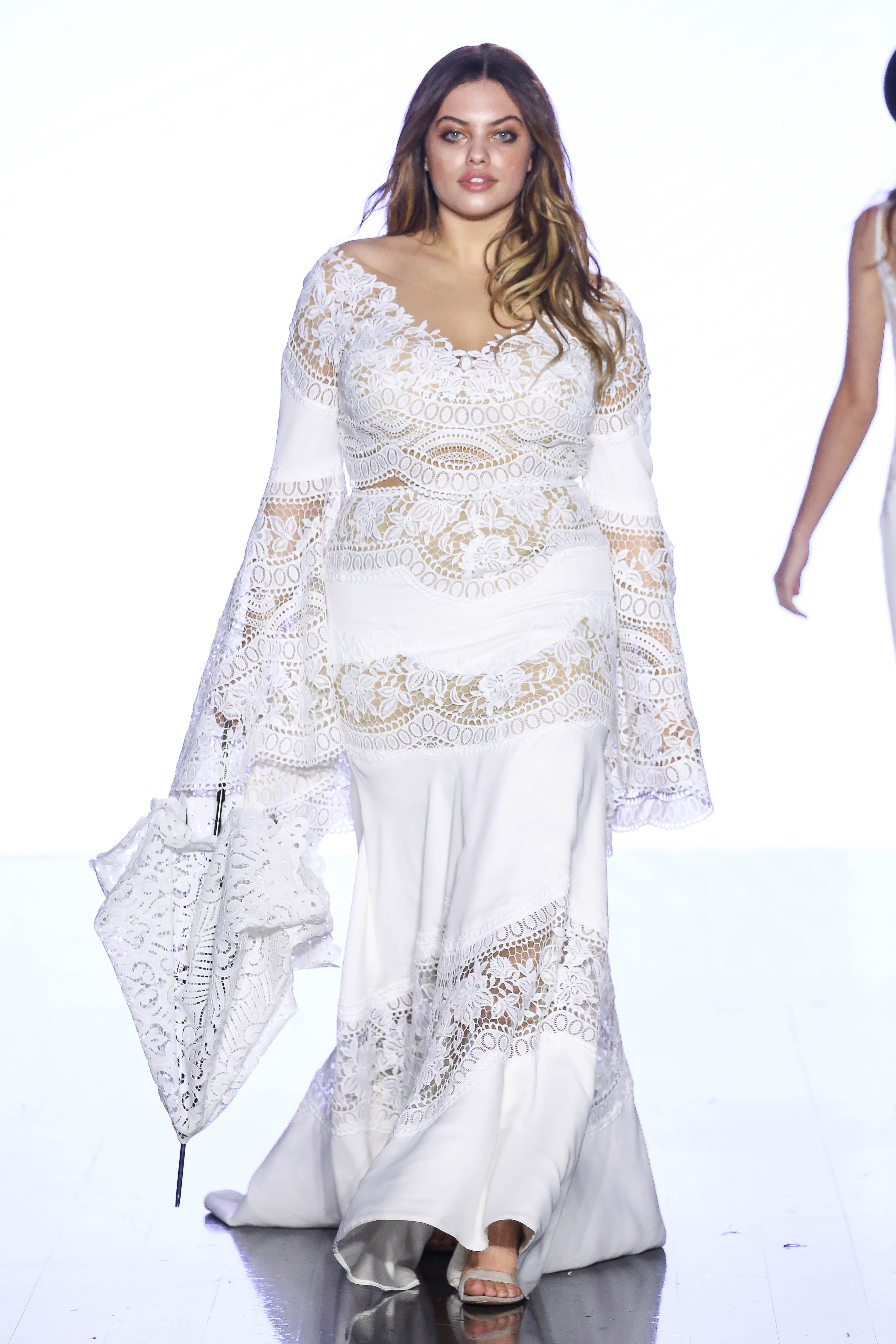 willowby by watters long sleeve floral applique wedding dress spring 2020