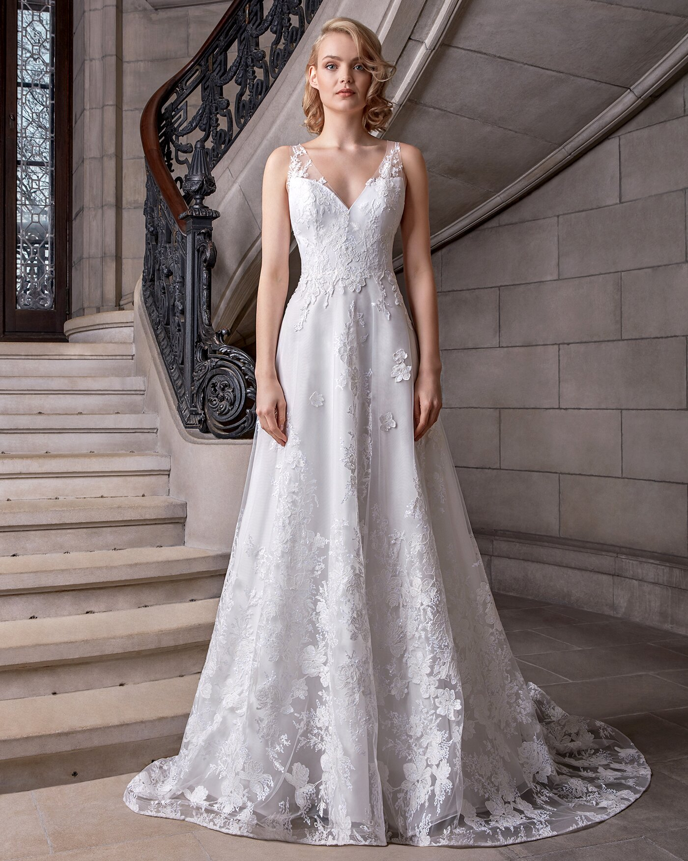 Sareh Nouri Spring 2020 Wedding Dress Collection Martha Stewart
