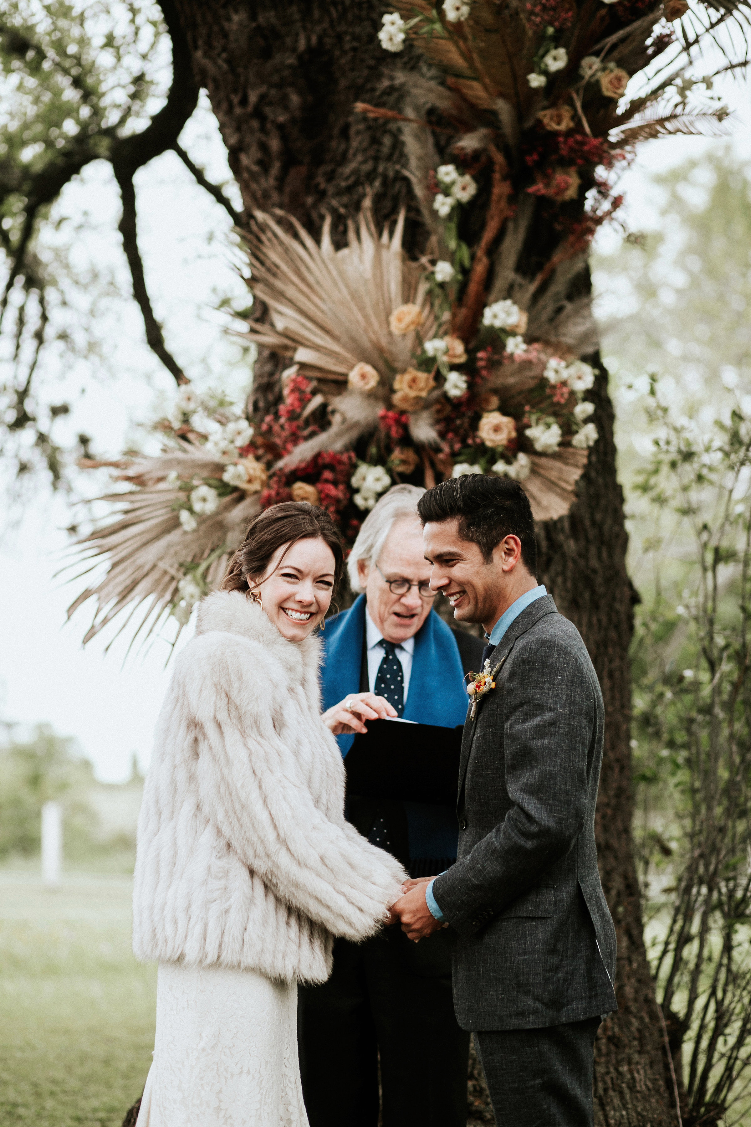 shannon jason wedding bride groom couple ceremony with officiant