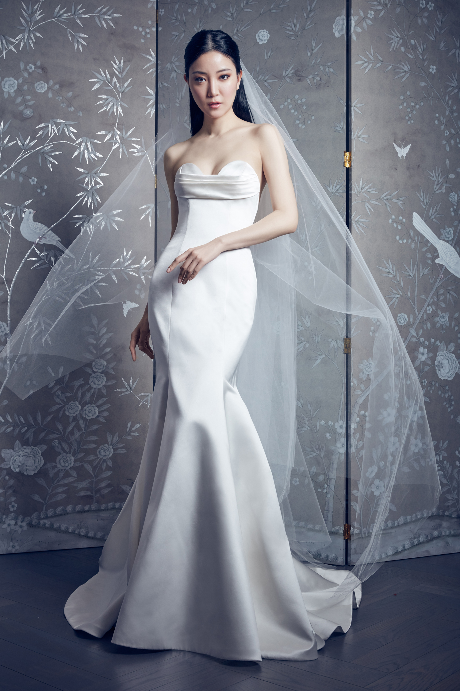 legends romona keveza strapless trumpet wedding dress spring 2020