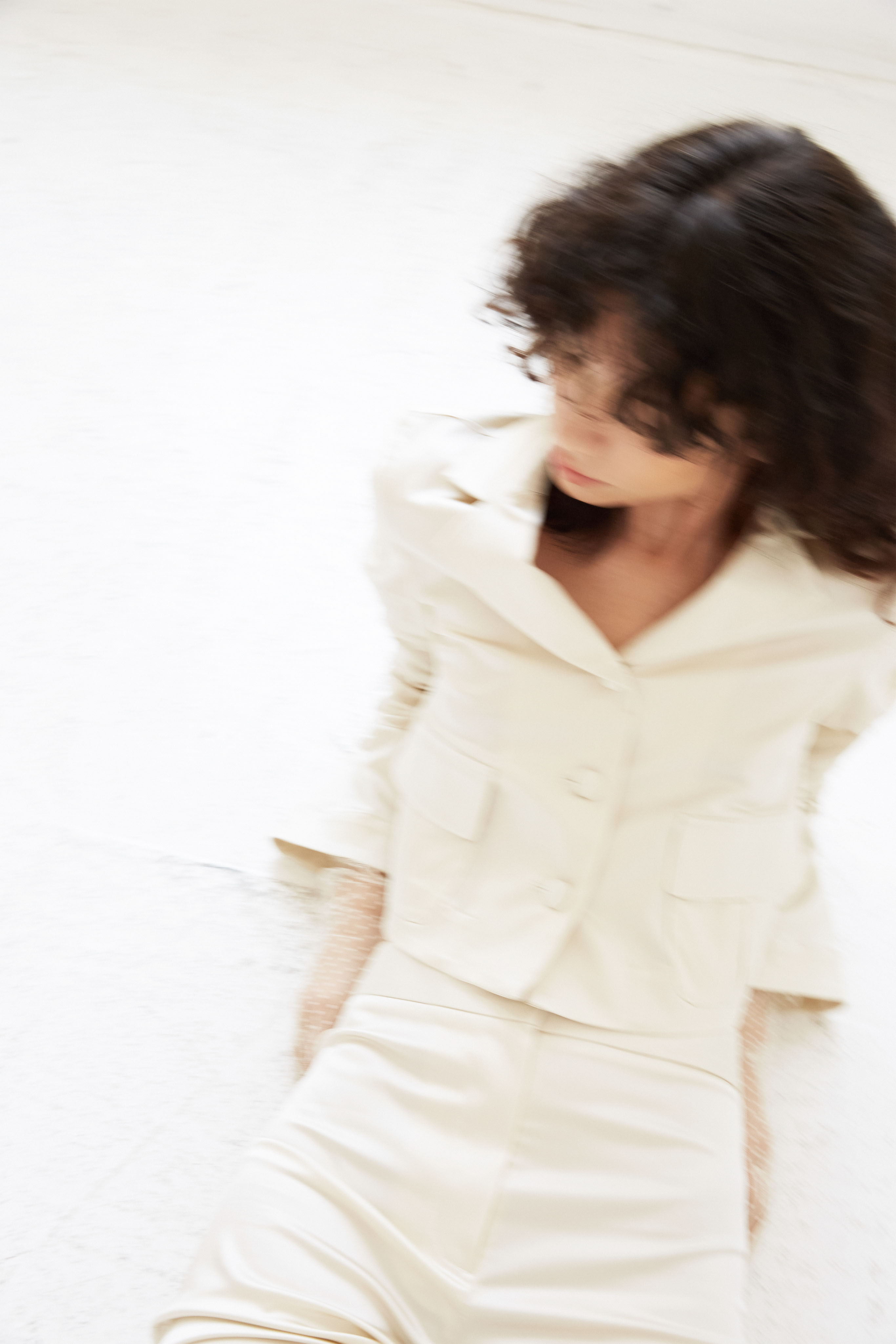 lein wedding dress spring 2020 separates bell sleeve white jacket button