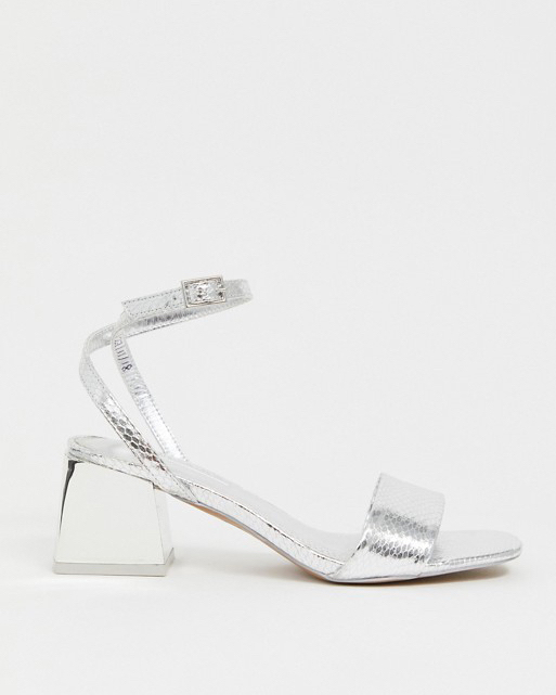 "ASOS Design ""Honeywell"" Block Heeled Sandals"
