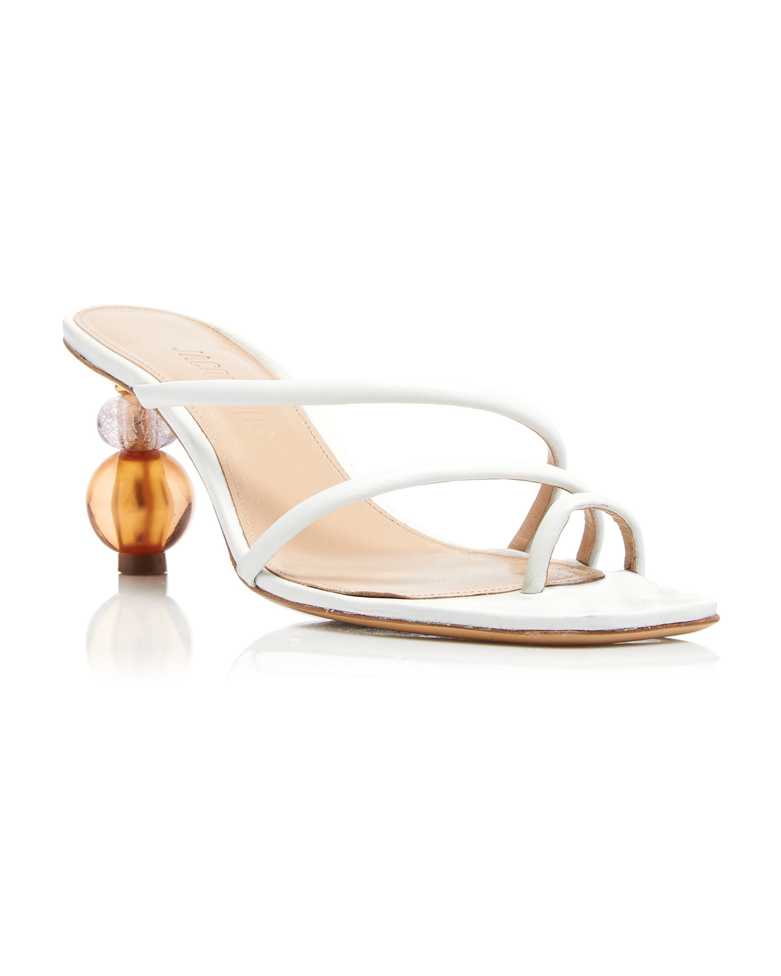 "Jacquemus ""Noli"" Leather Sandals"