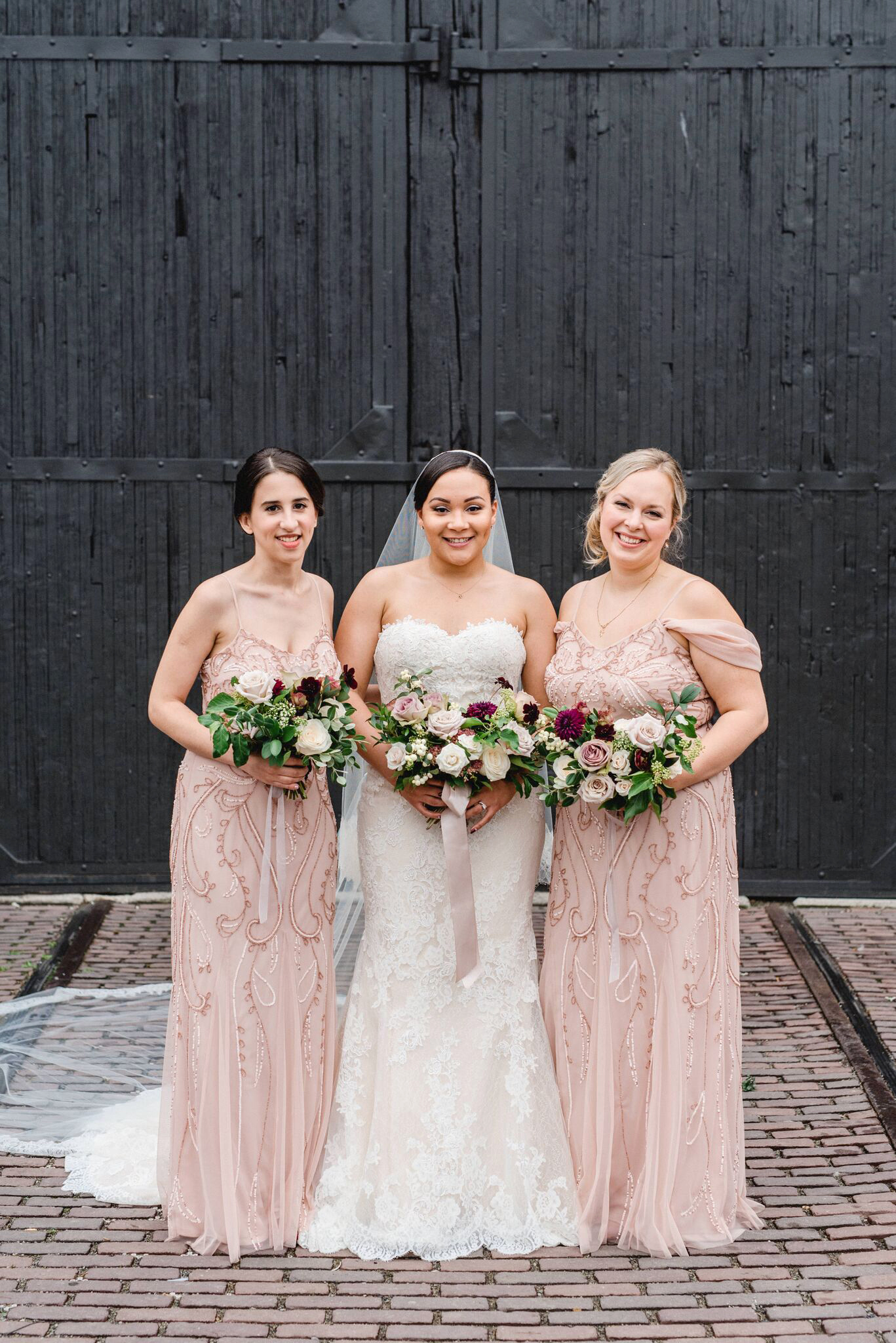 daniela andrei wedding bridesmaids
