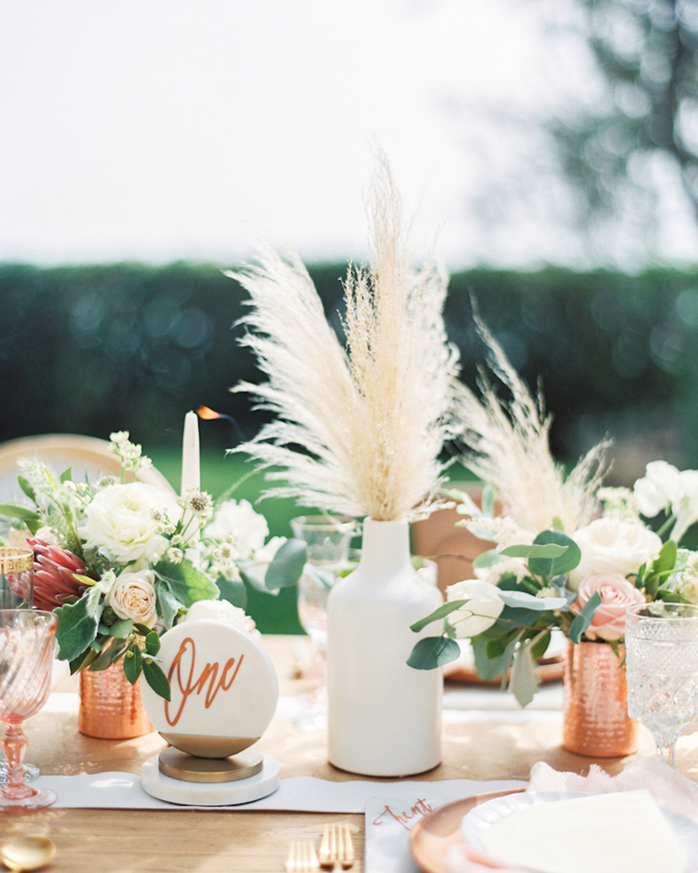Wedding Website Url Ideas: Trending Now: Pampas Grass Wedding Ideas