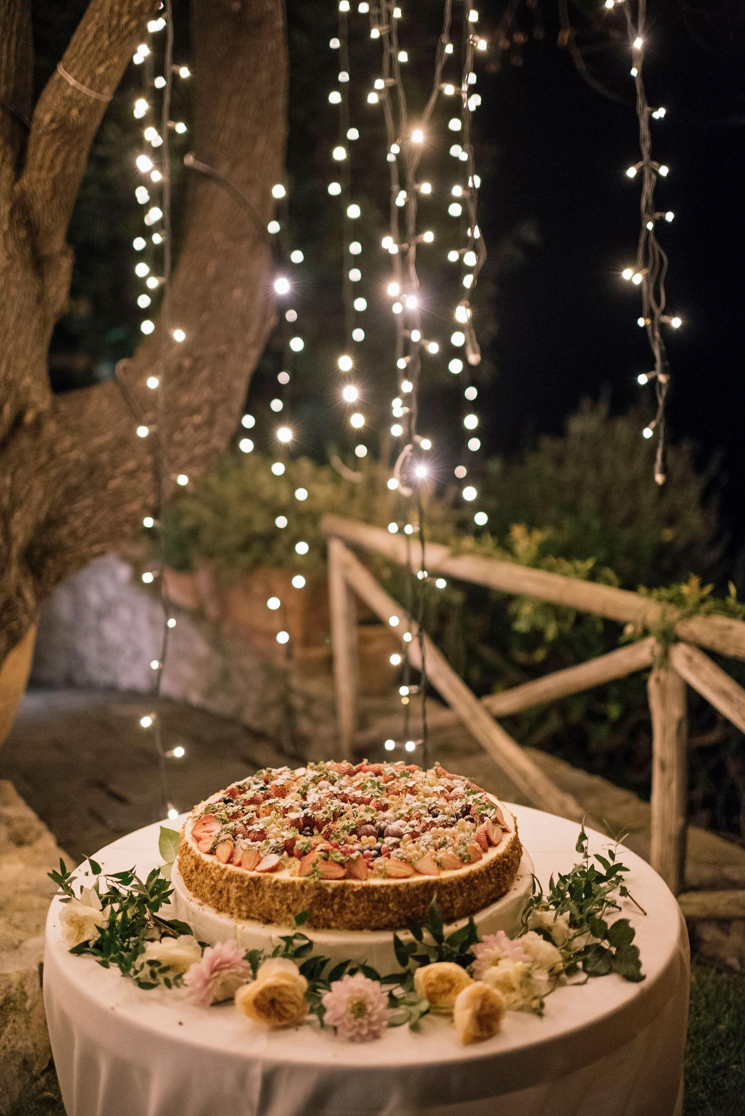 cara david wedding cake