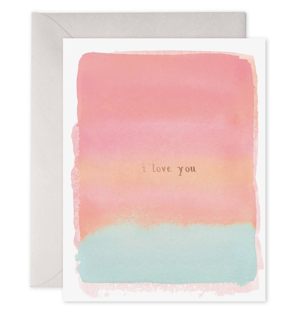 """I Love You"" Greeting Card"