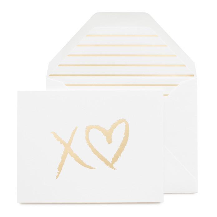 """XO Heart"" Greeting Card"