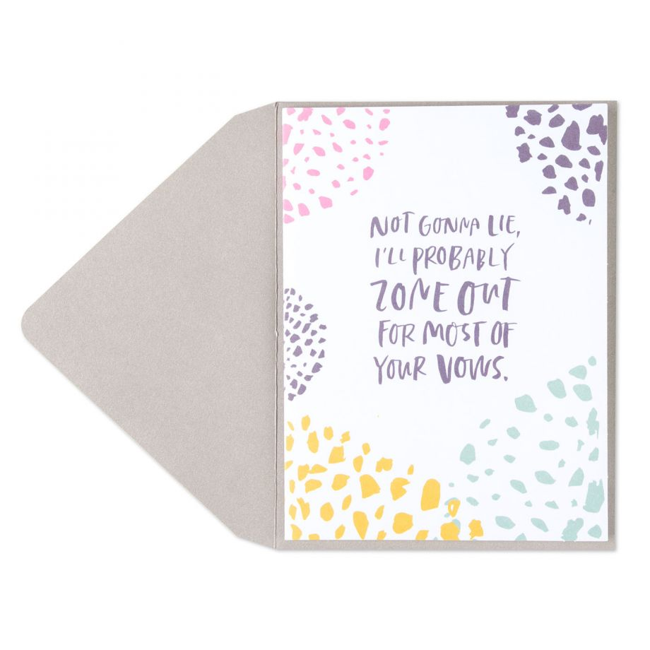 """""""Not Gonna Lie"""" Greeting Card"""