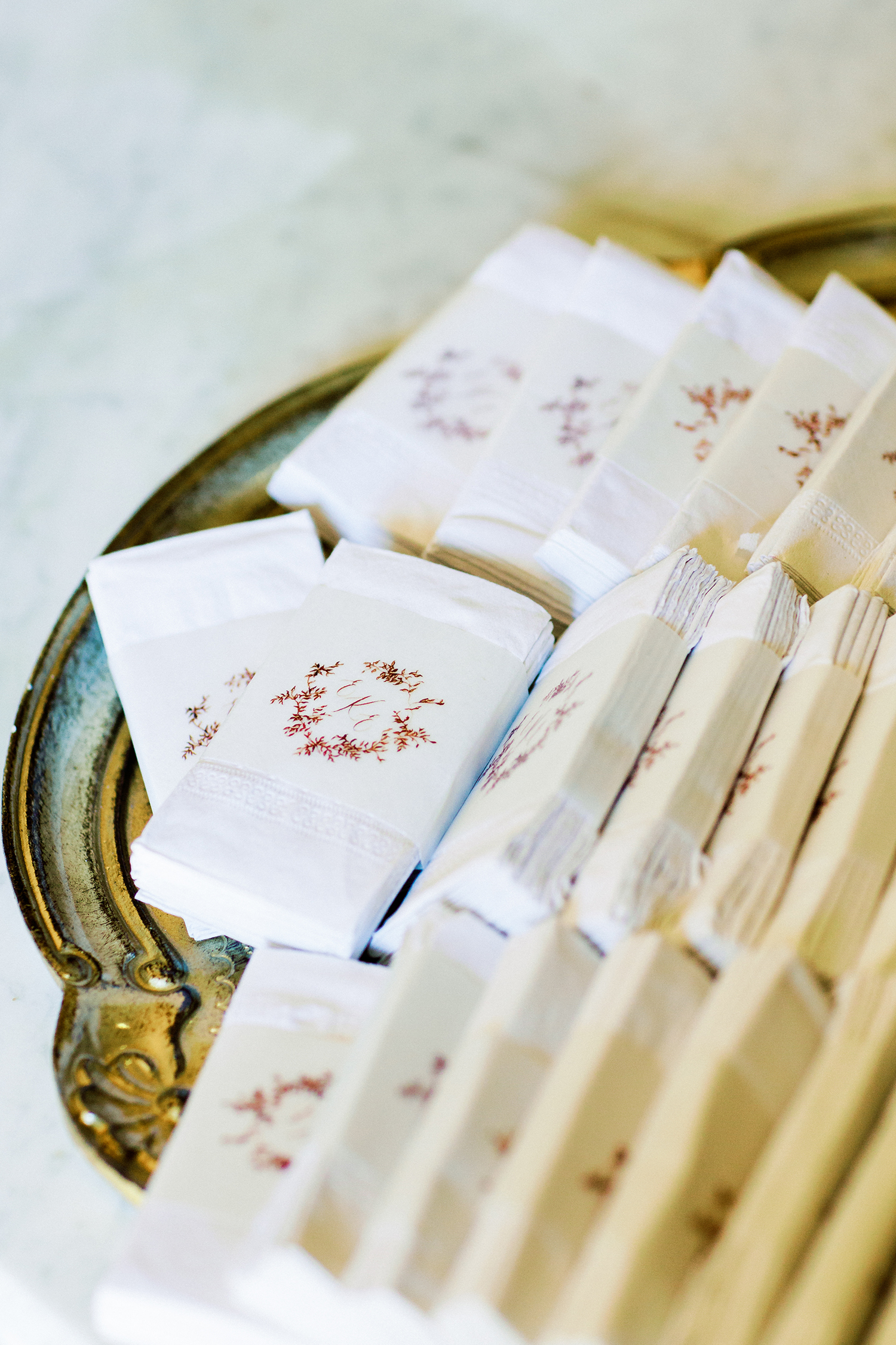erika evan wedding tears of joy tissues