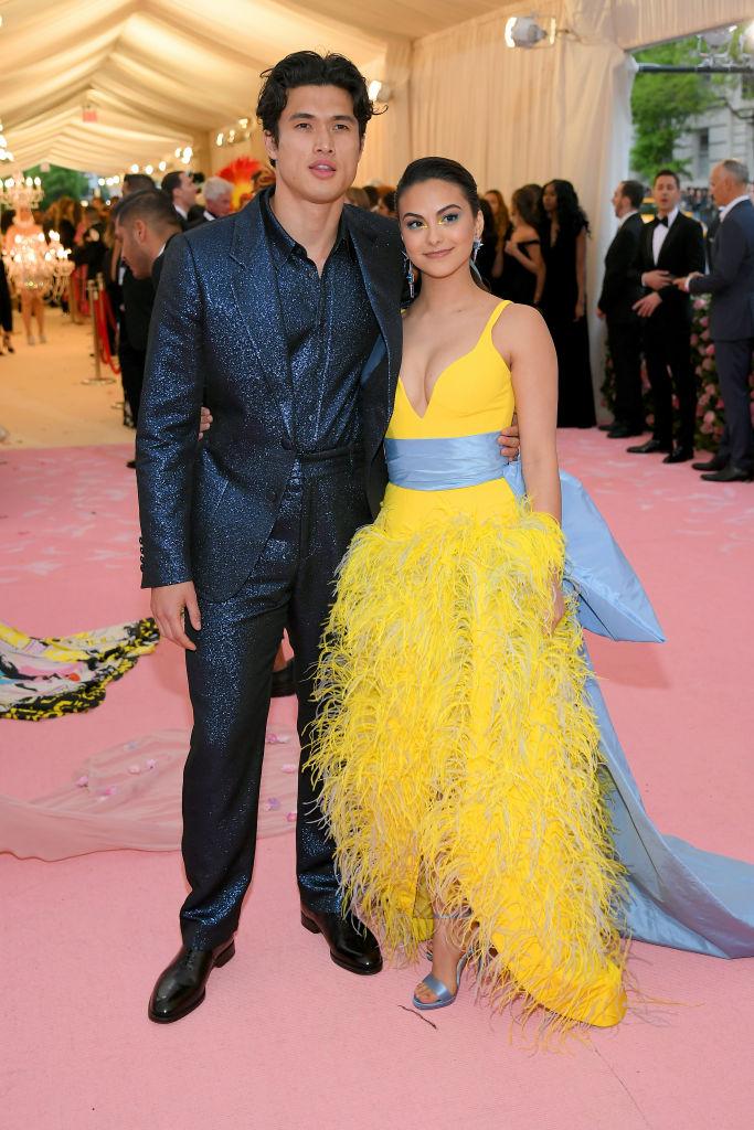 Camila Mendes and Charles Melton 2019 Met Gala