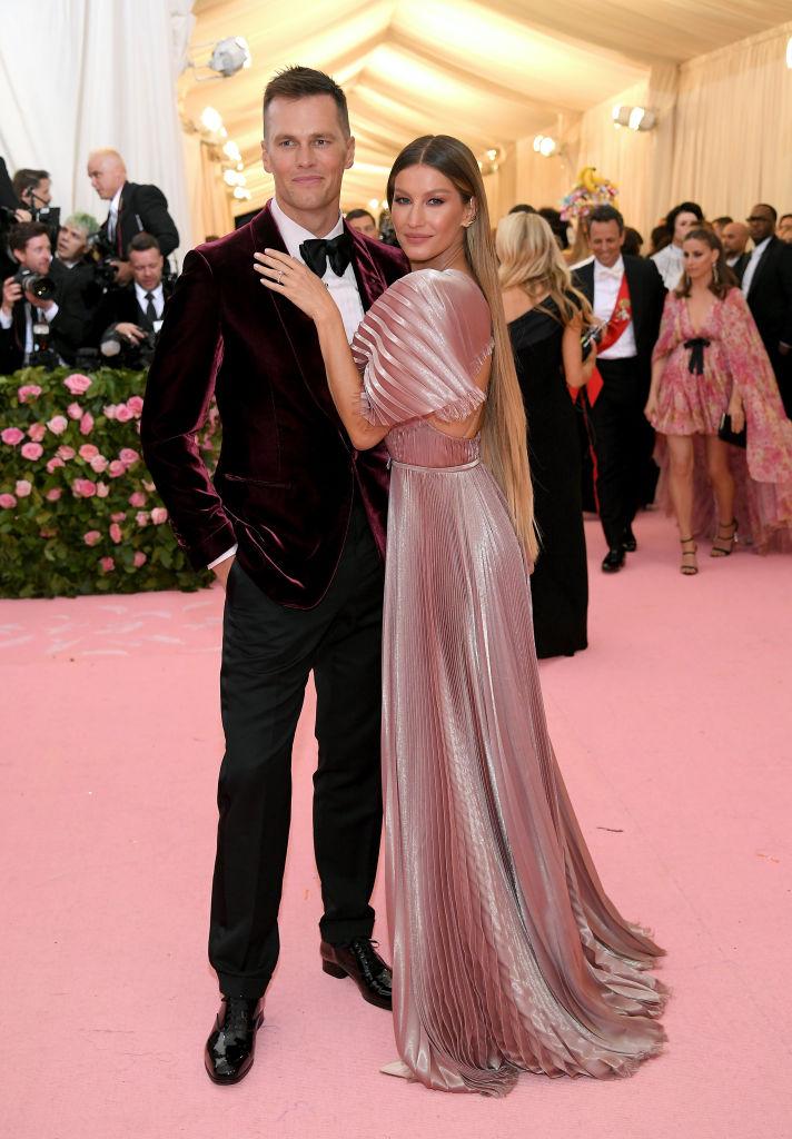 Tom Brady and Gisele Bündchen 2019 Met Gala