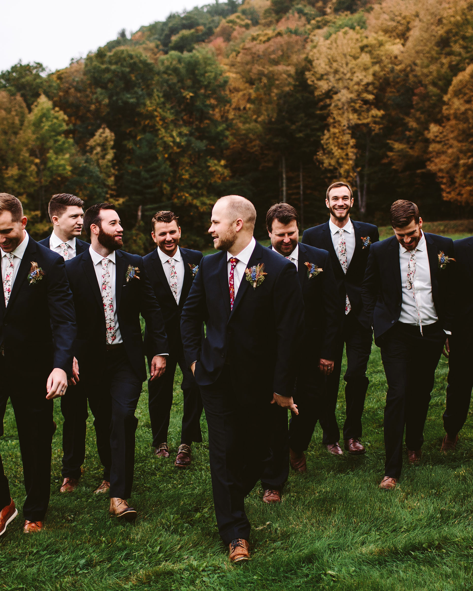 rivka aaron wedding groom and groomsmen