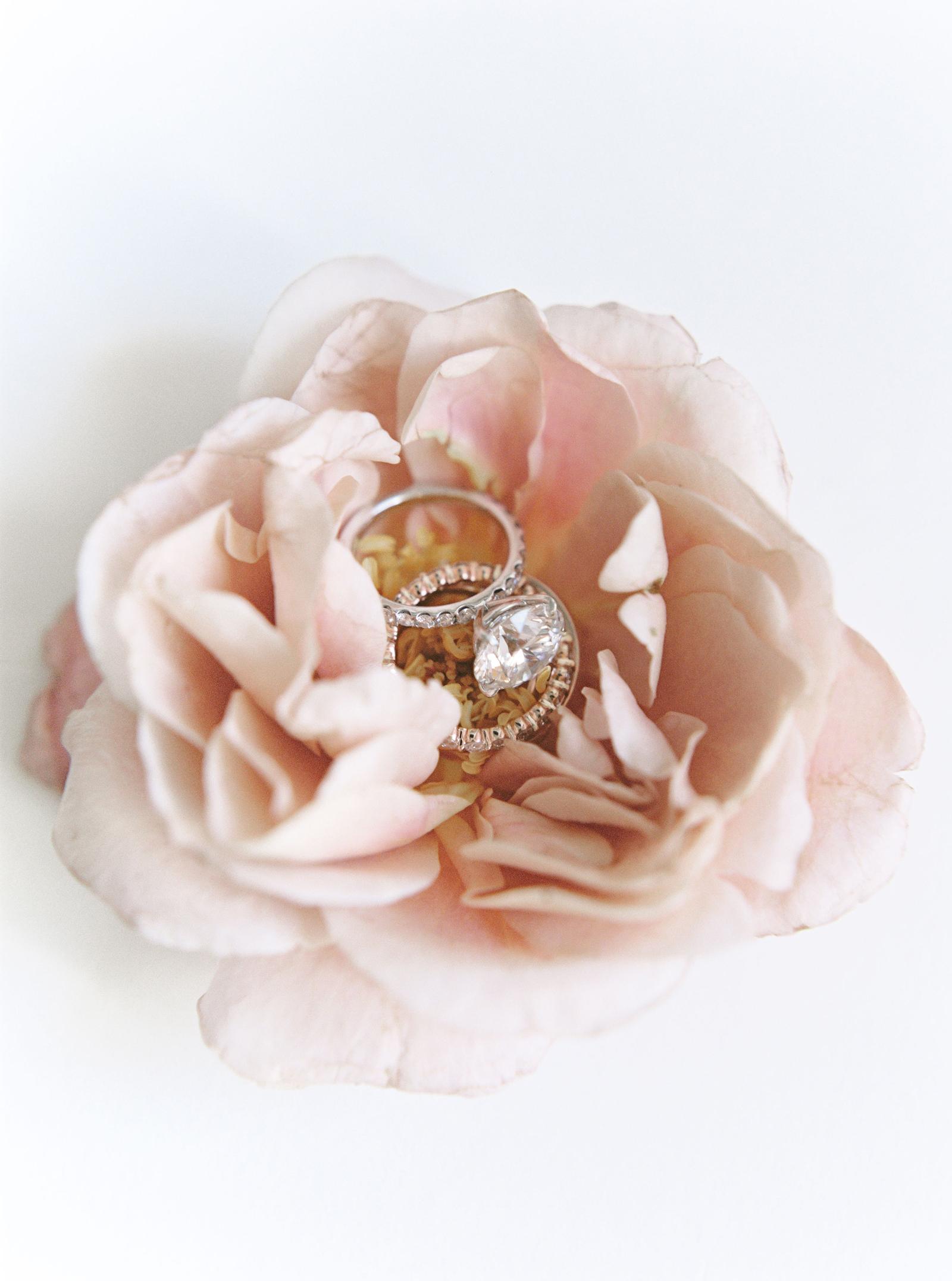 timeless simple round cut diamond on eternity wedding band