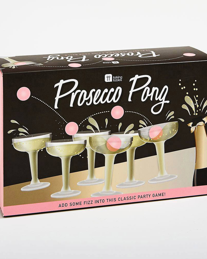 bachelorette party supplies prosecco pong game