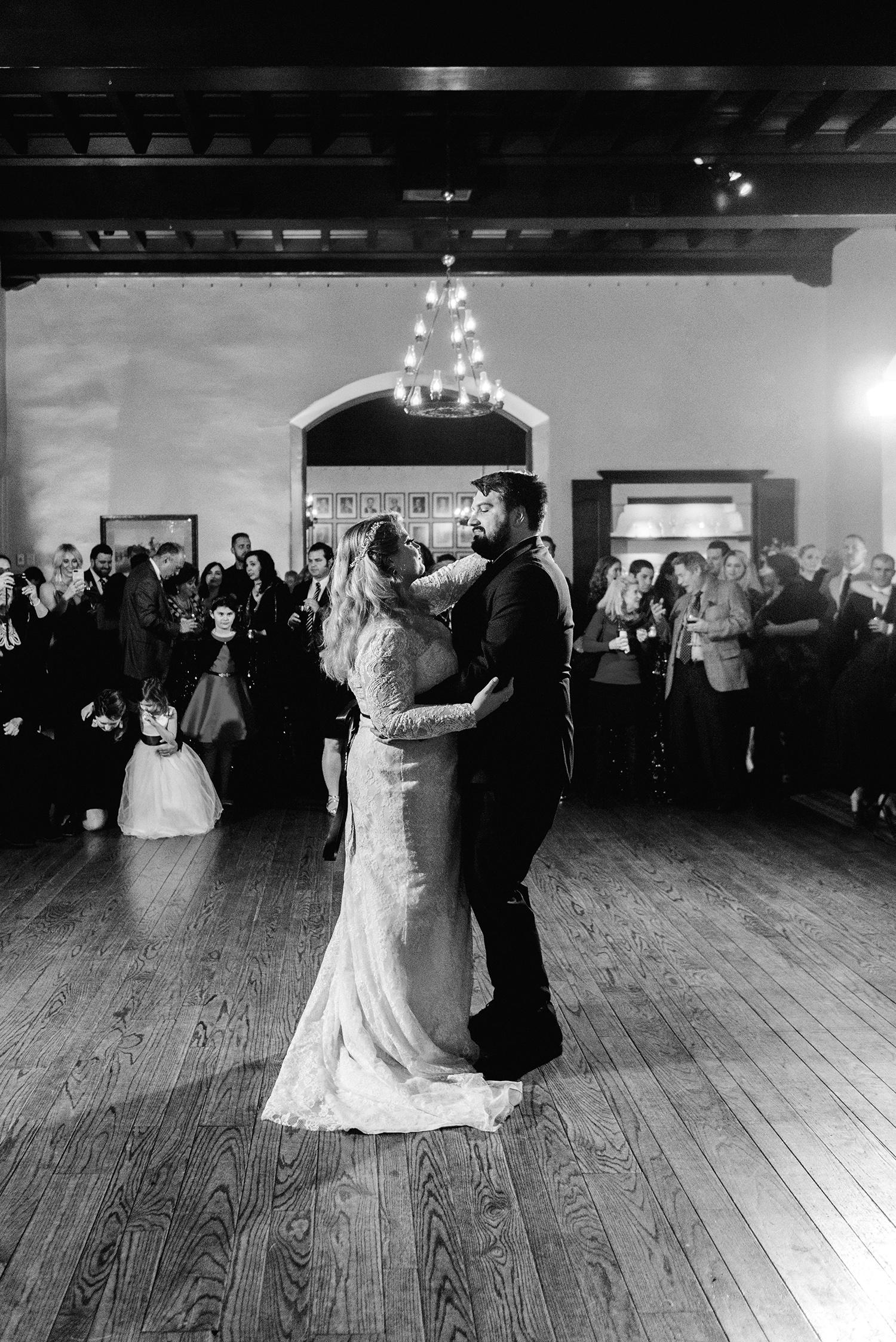 johanna erik wedding reception first dance