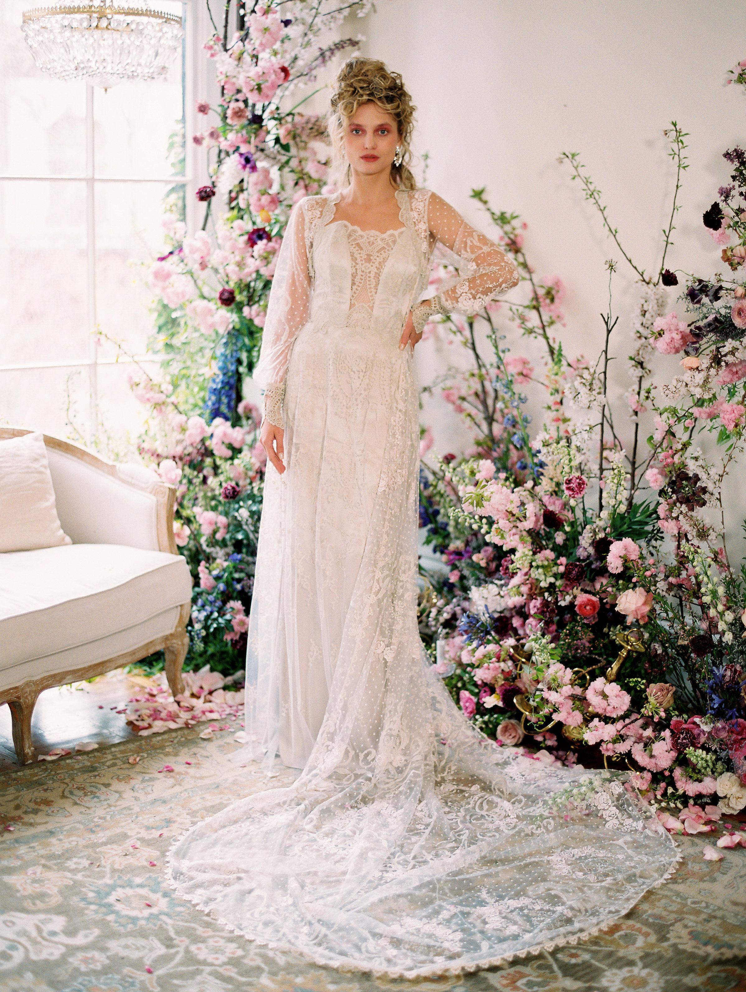 Claire Pettibone Spring 2020 Wedding Dress Collection Martha