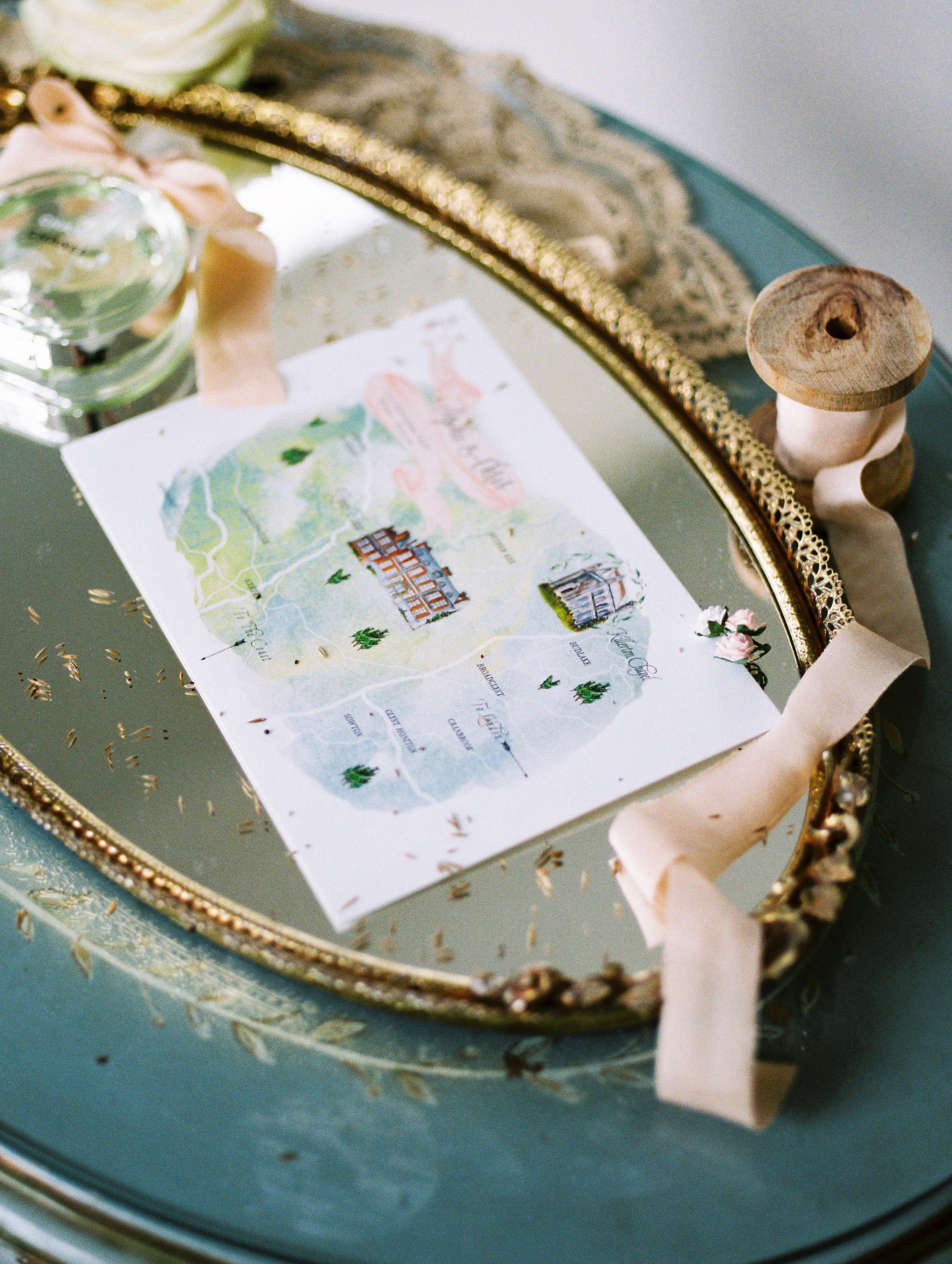 sophie christopher wedding map
