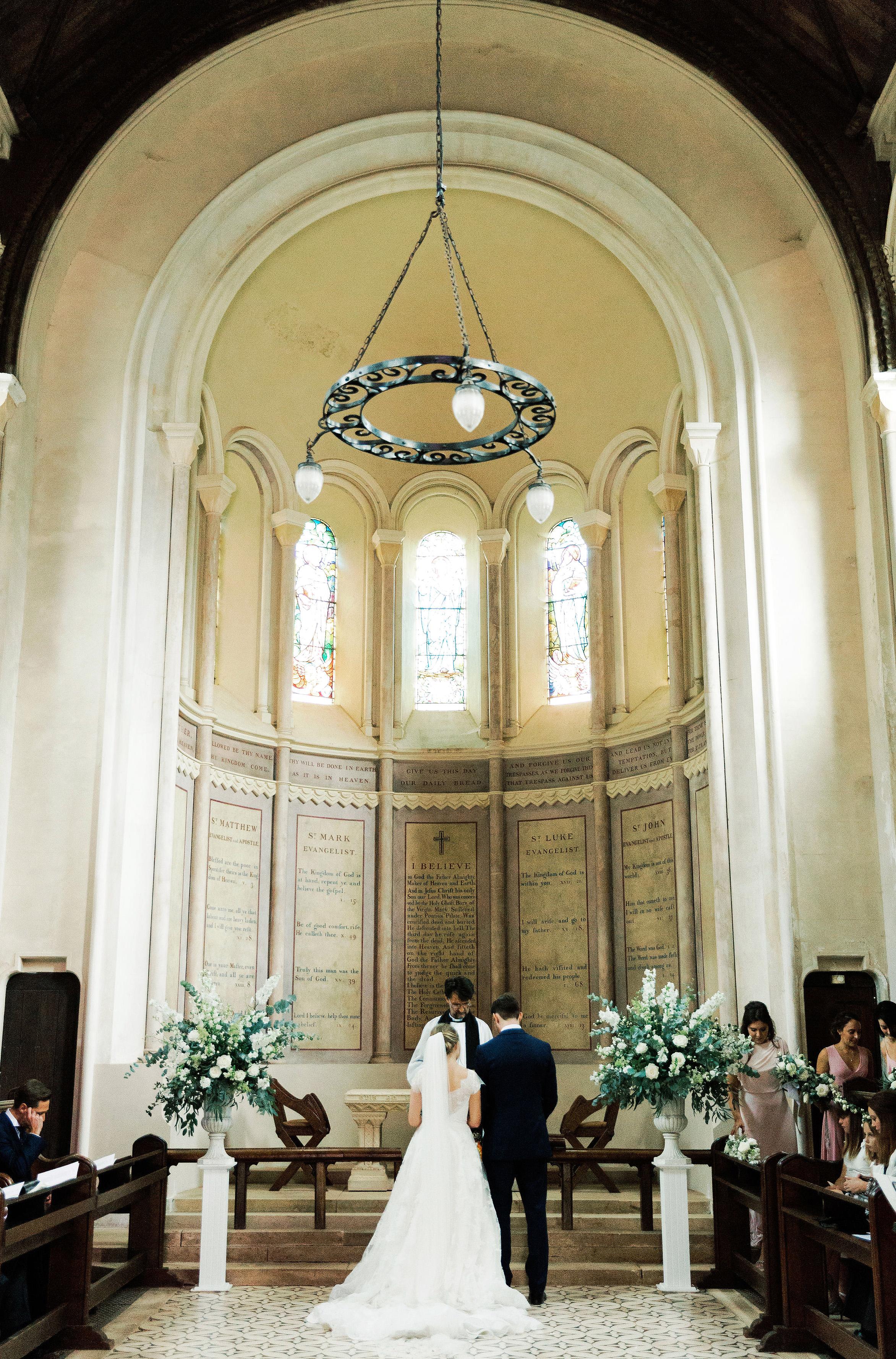 sophie christopher wedding couple ceremony church