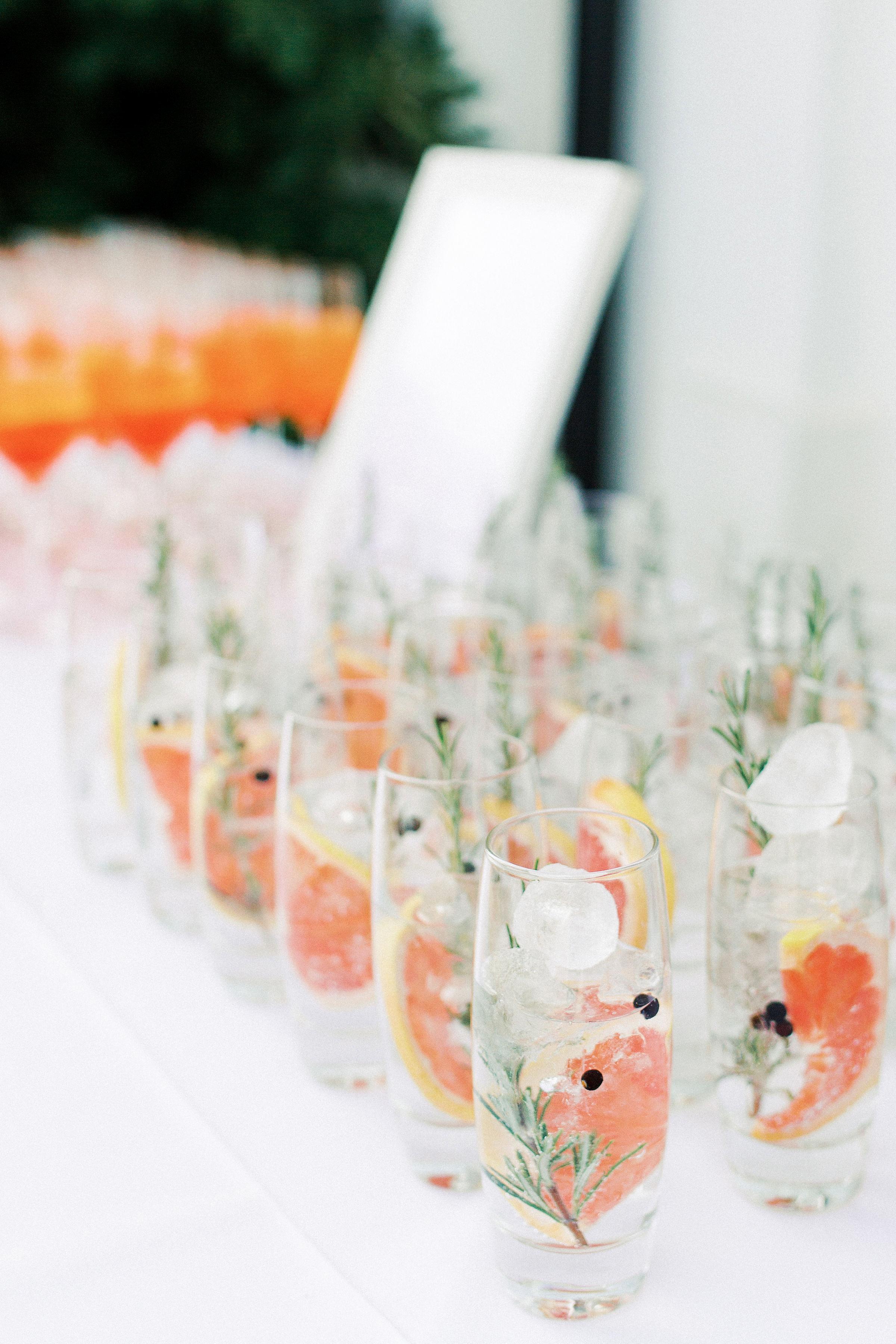 sophie christopher wedding cocktails