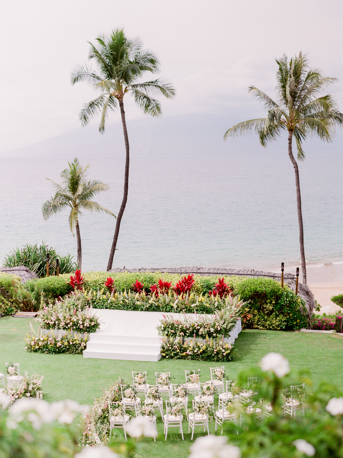 Maui Four Seasons wedding venue outdoors