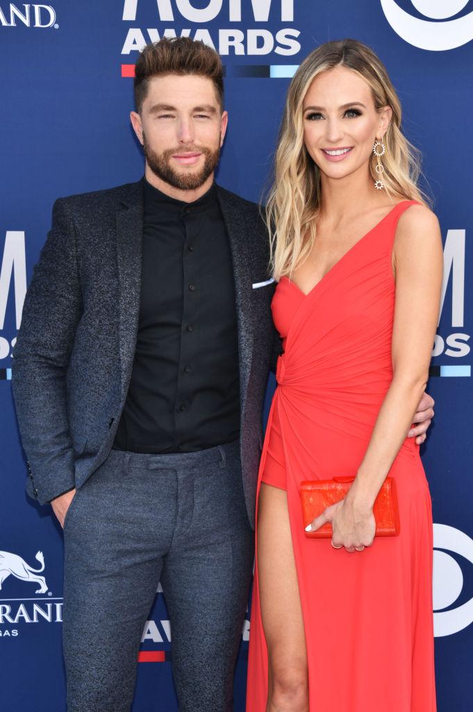 Chris Lane and Lauren Bushnell