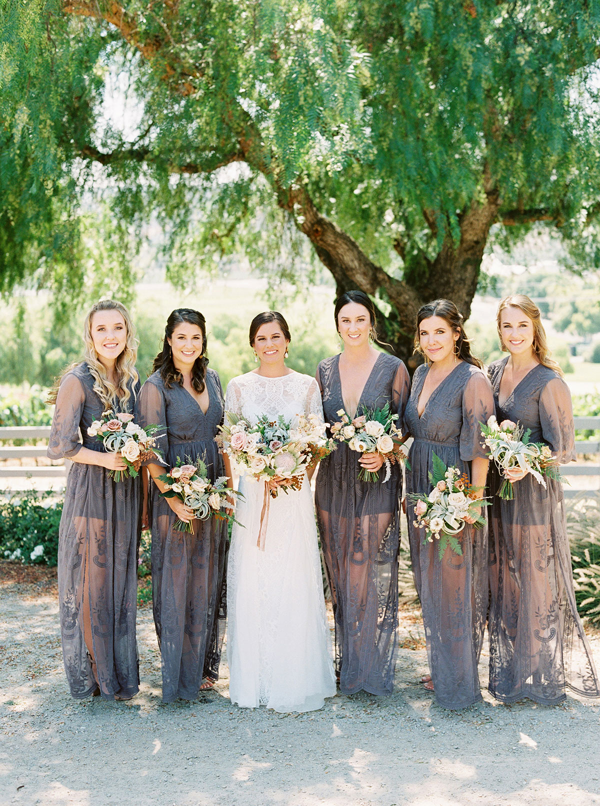 Can Bridesmaids Wear Long Sleeved Dresses For A Summer Wedding