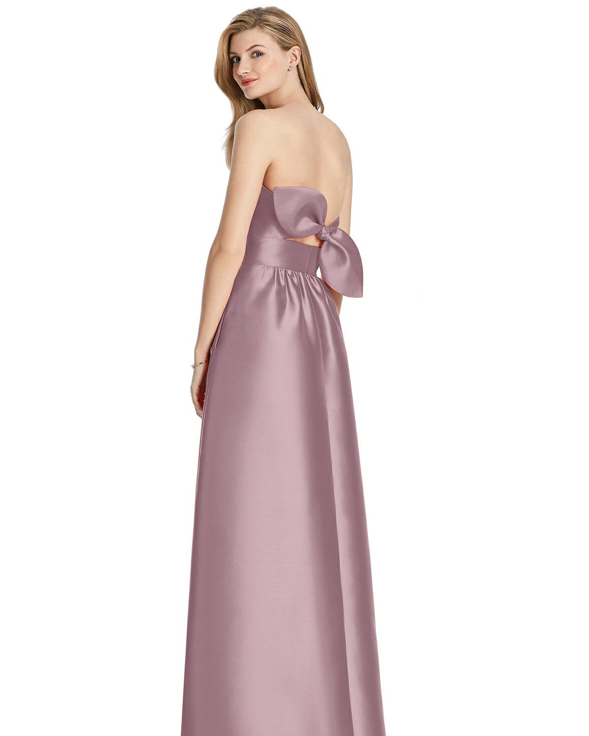 Lela Rose Bridesmaid sateen twill dress