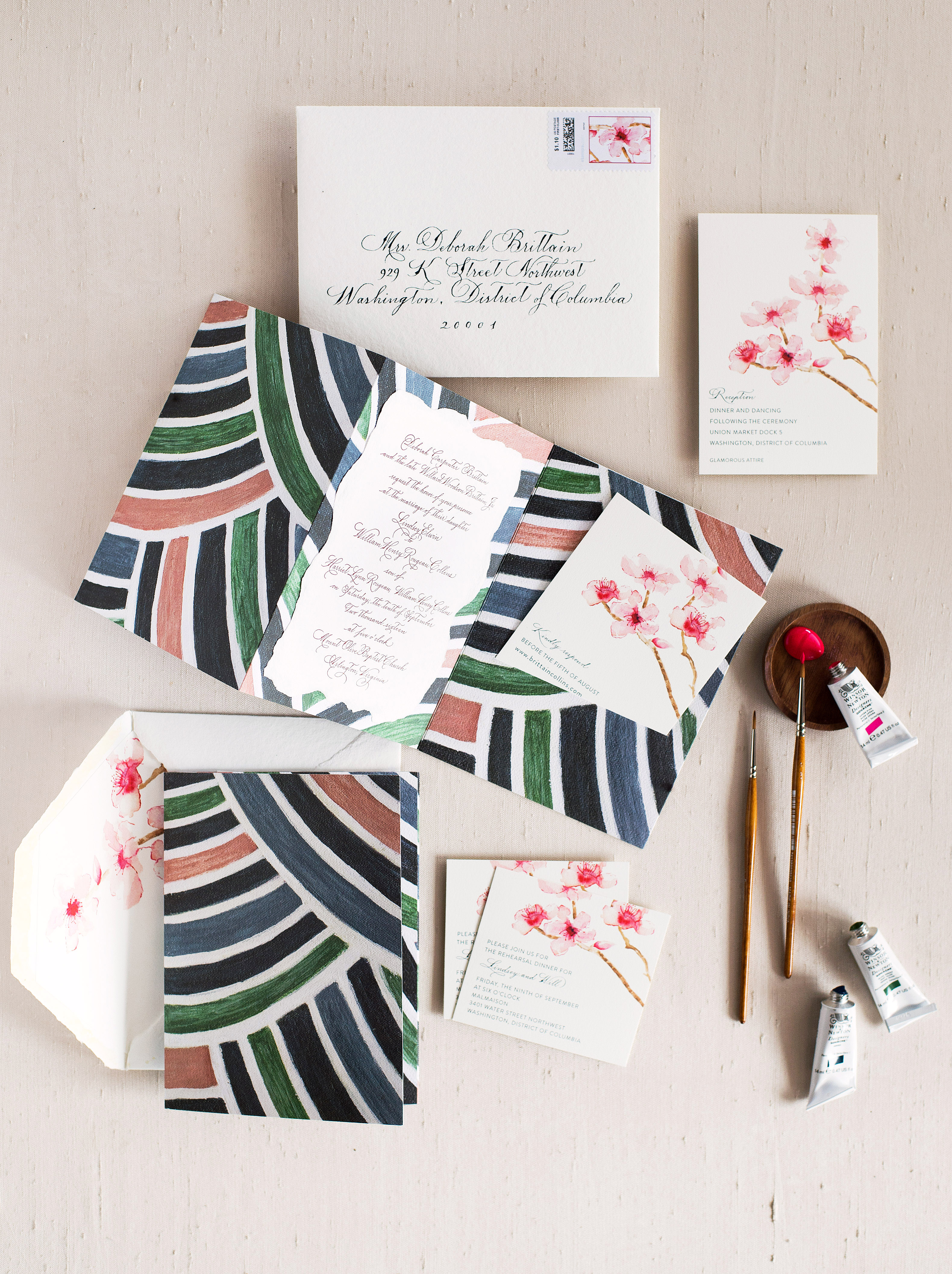 An Artistic Invitation Suite