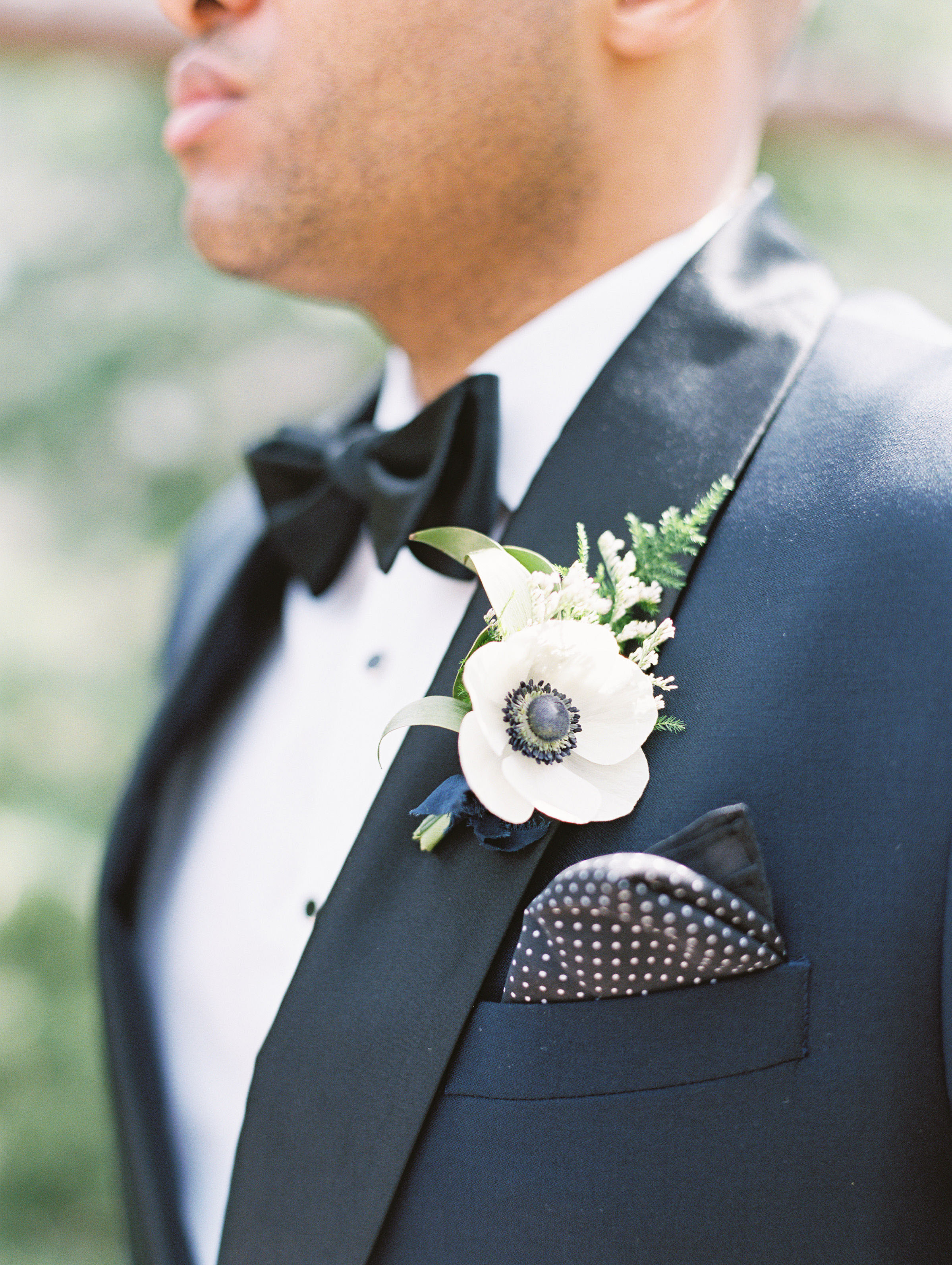 susie joe wedding boutonniere