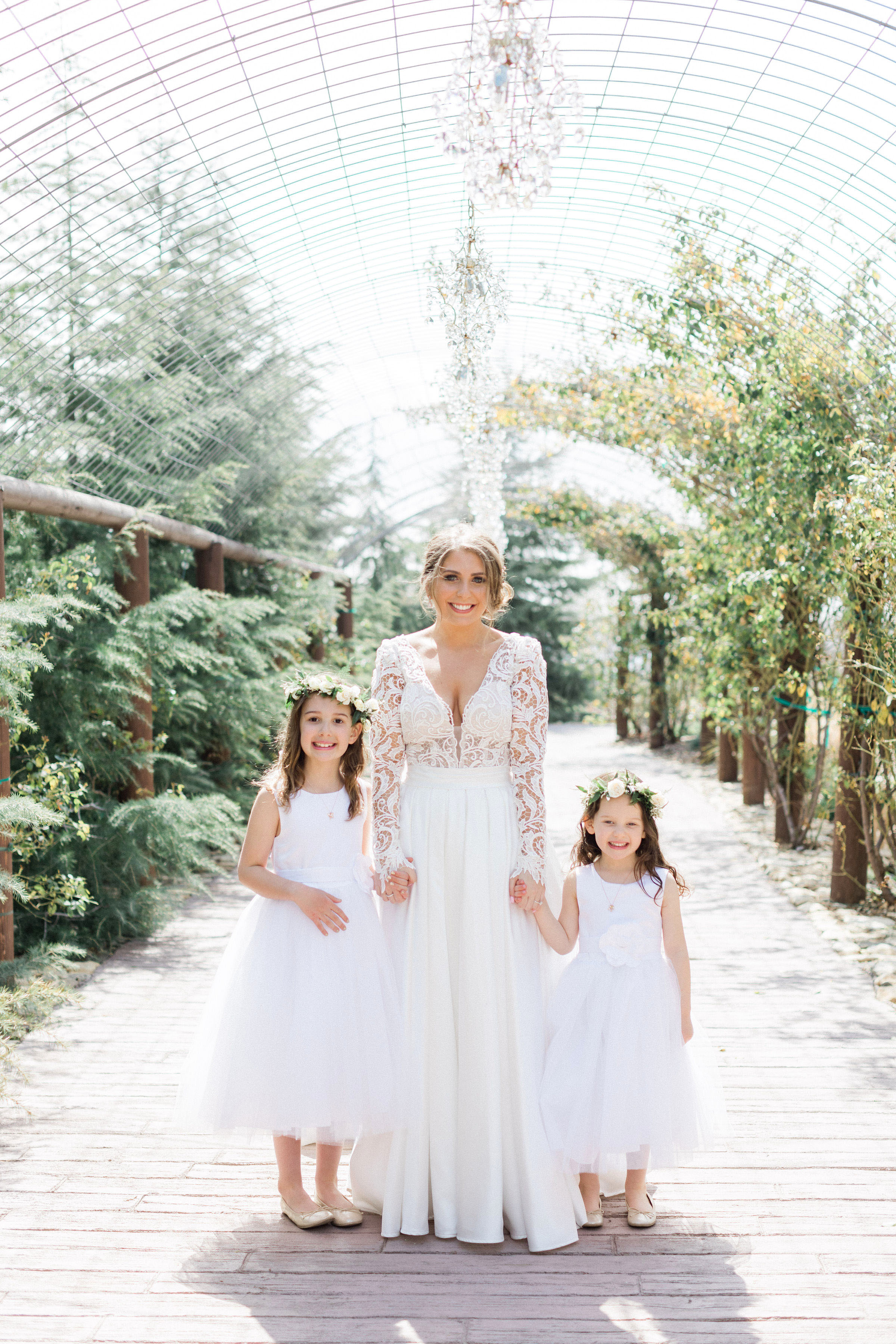 susie joe wedding flower girls