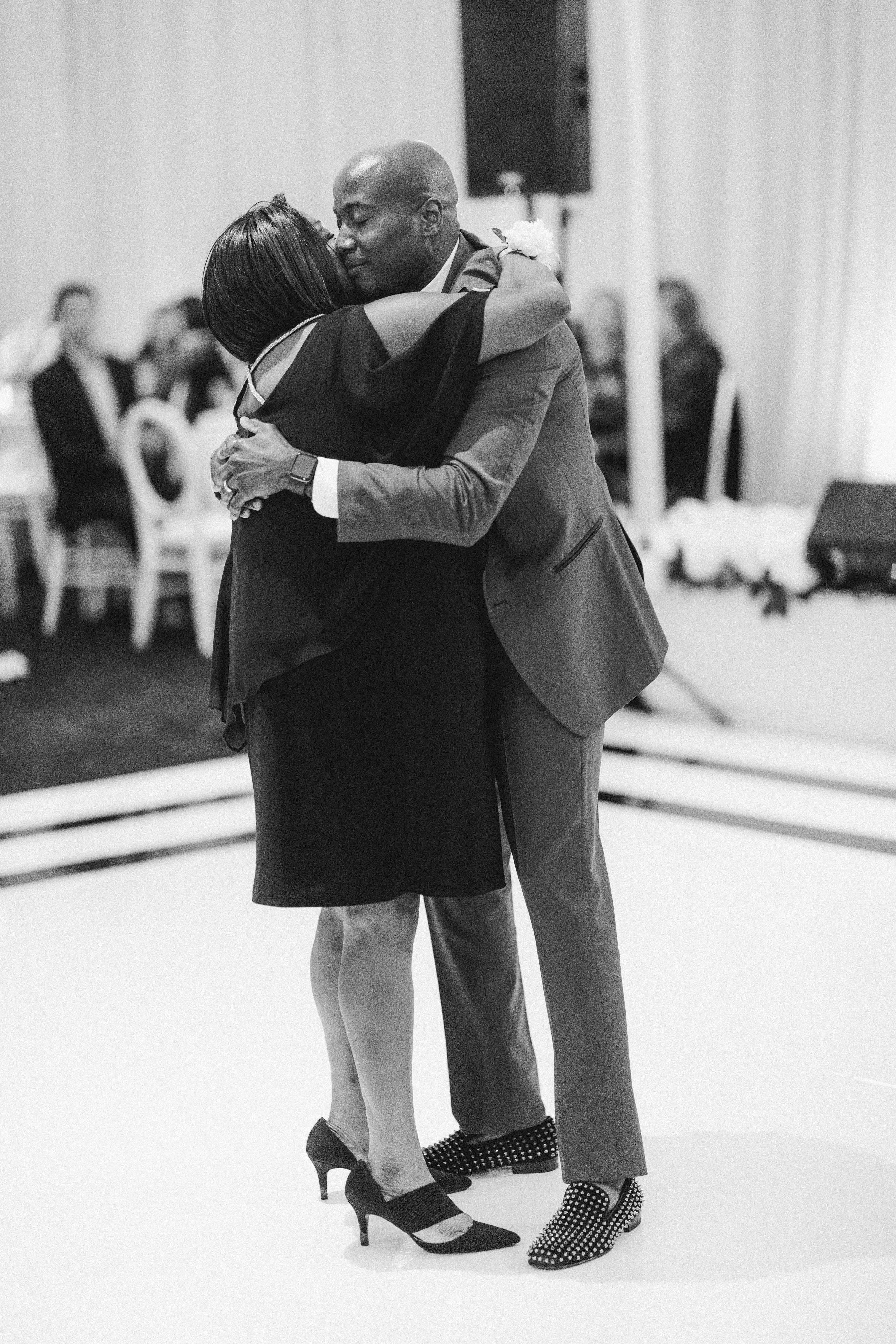 henery michael wedding parent dance