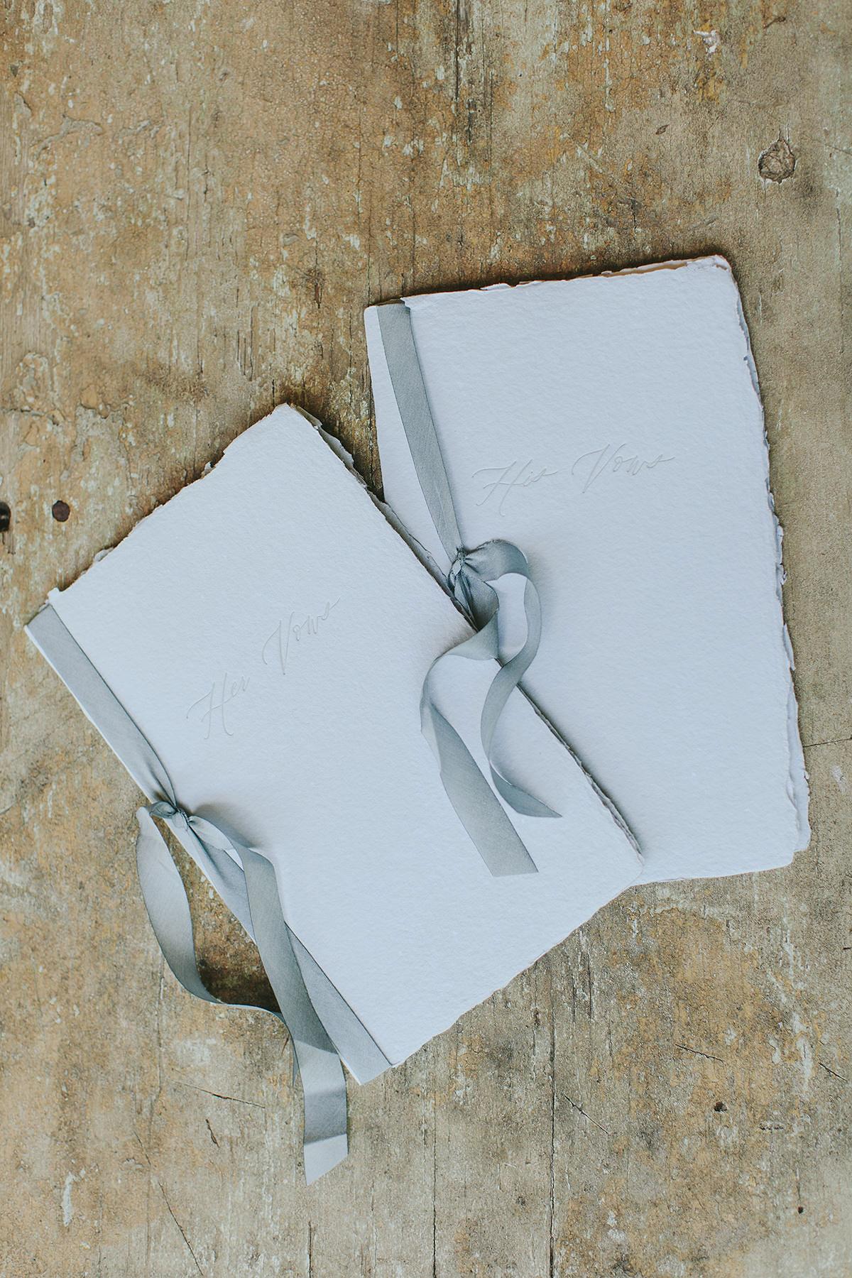 sarah daniel wedding vow books
