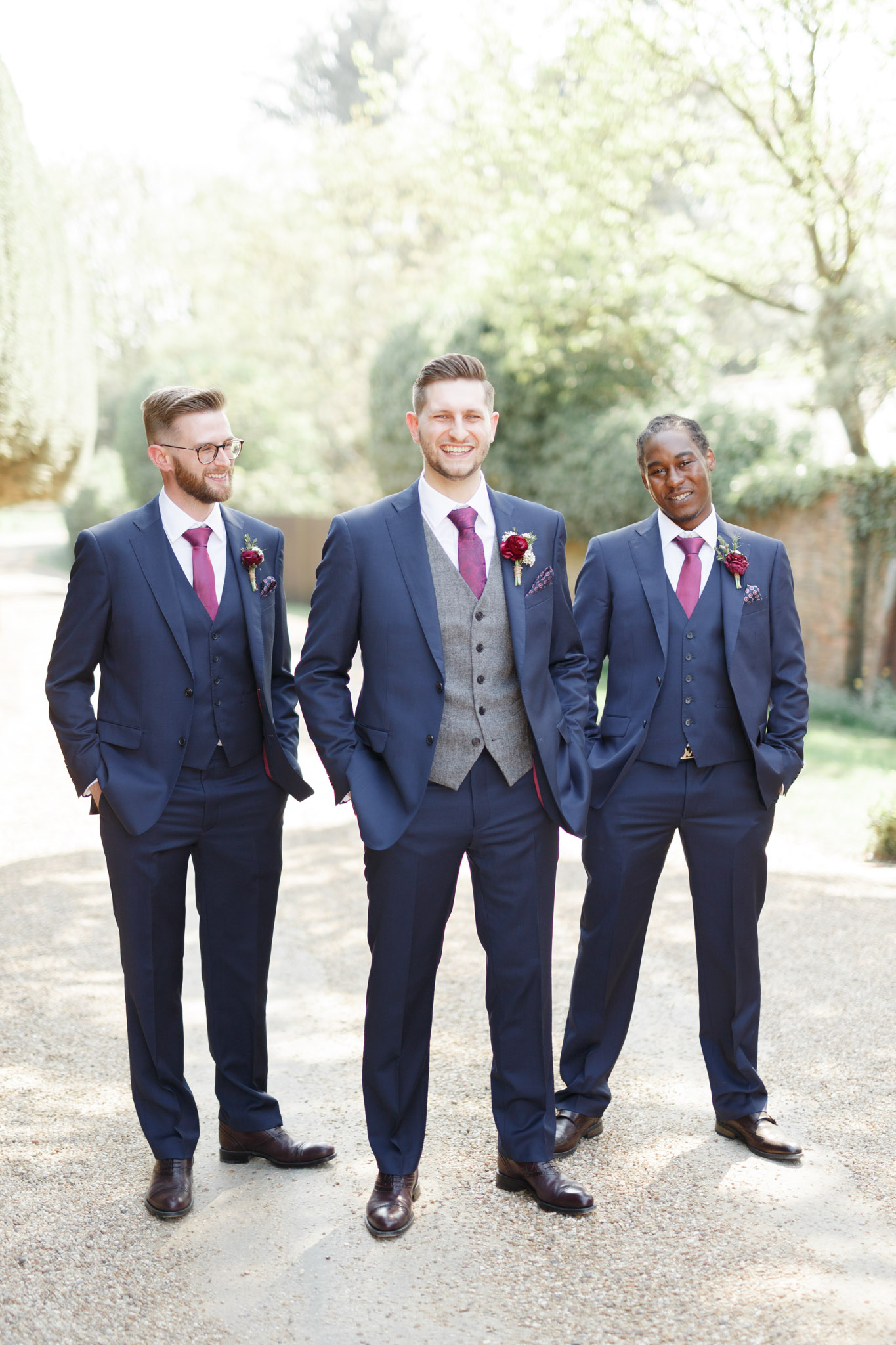 ryan thomas wedding groom and groomsmen
