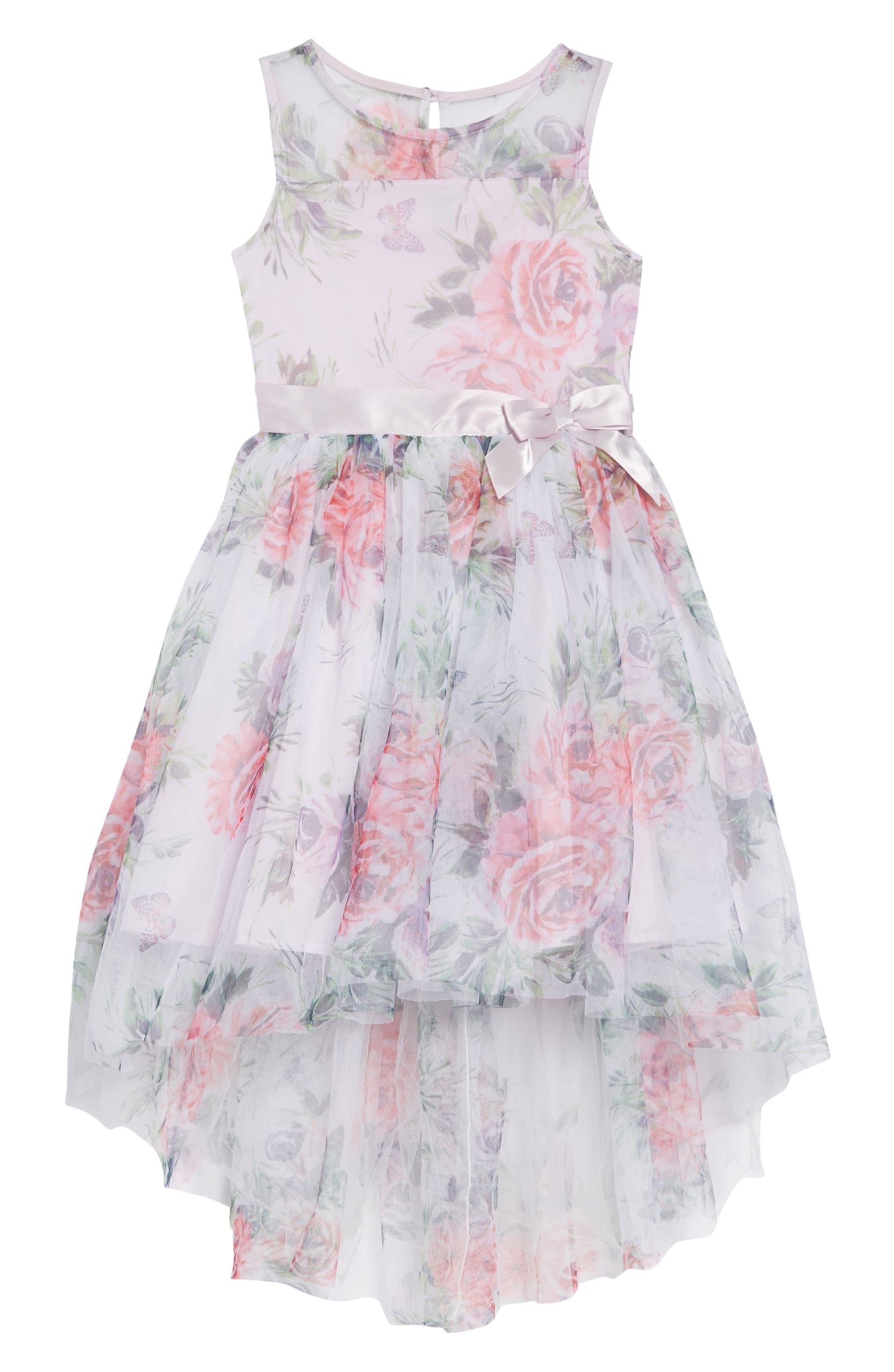 Zunie Floral-Print Dress
