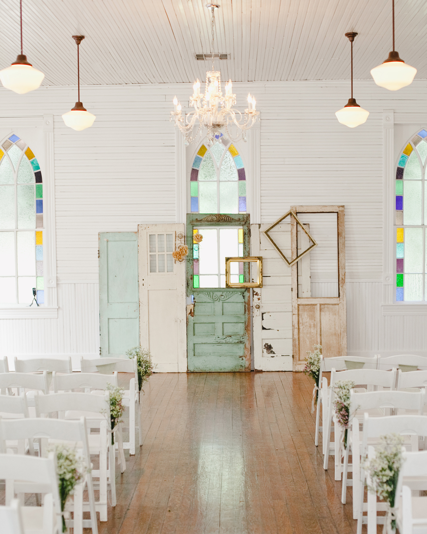 Colorful Windows wedding venue